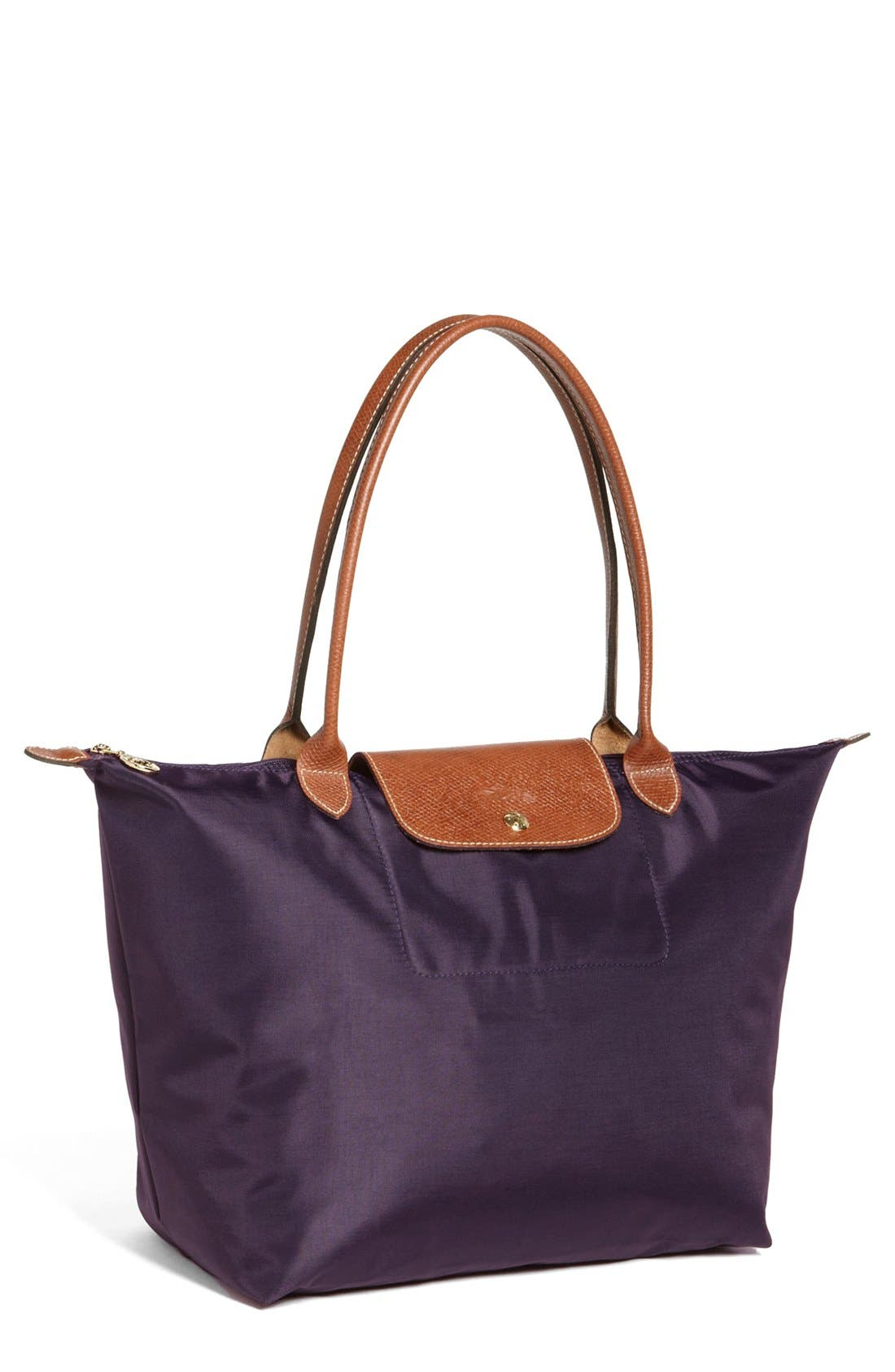 Longchamp 'Large Le Pliage' Nylon Tote