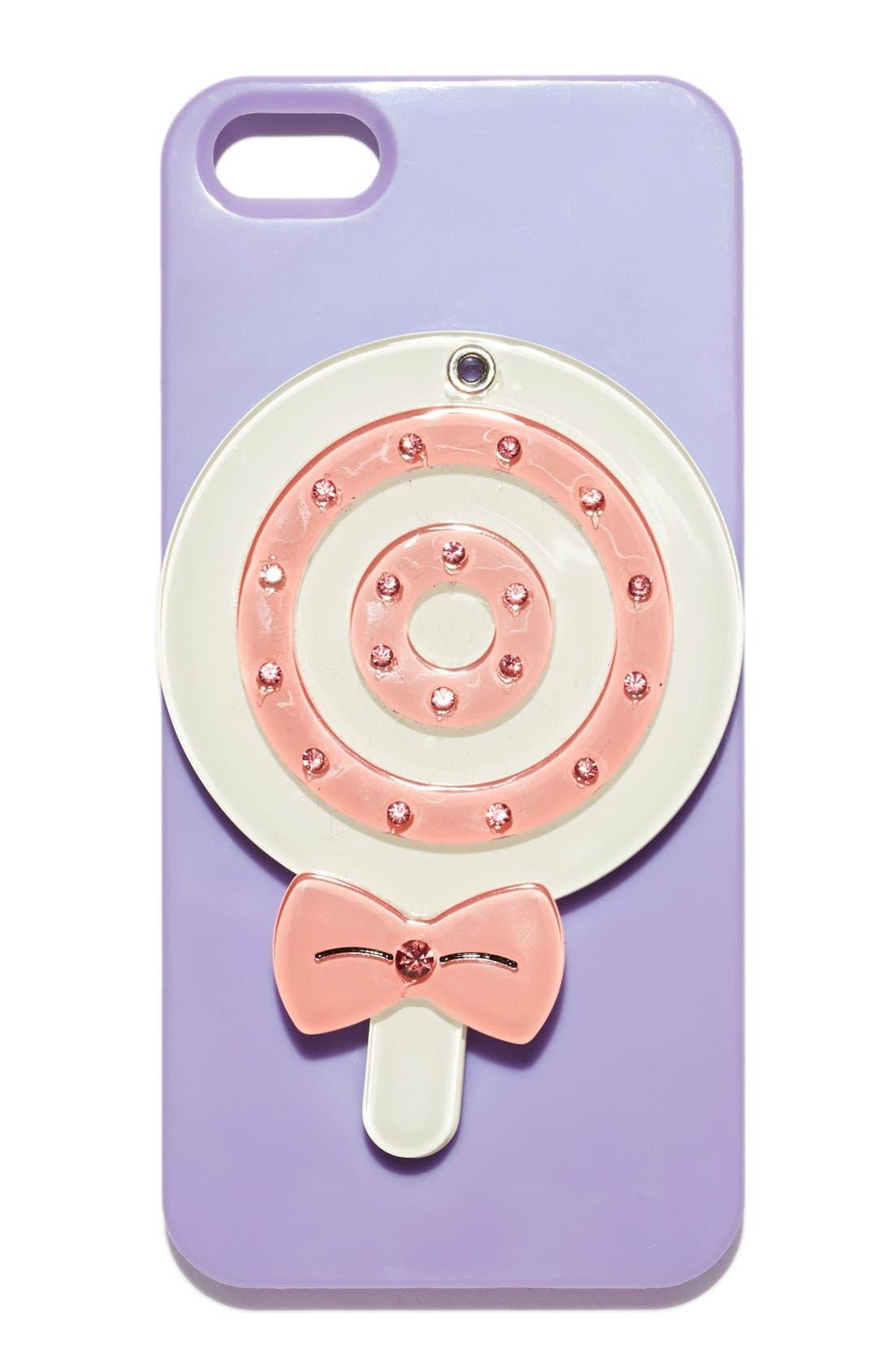 Main Image - Nordstrom 'Lollipop - Mirror' iPhone 5 & 5S Case