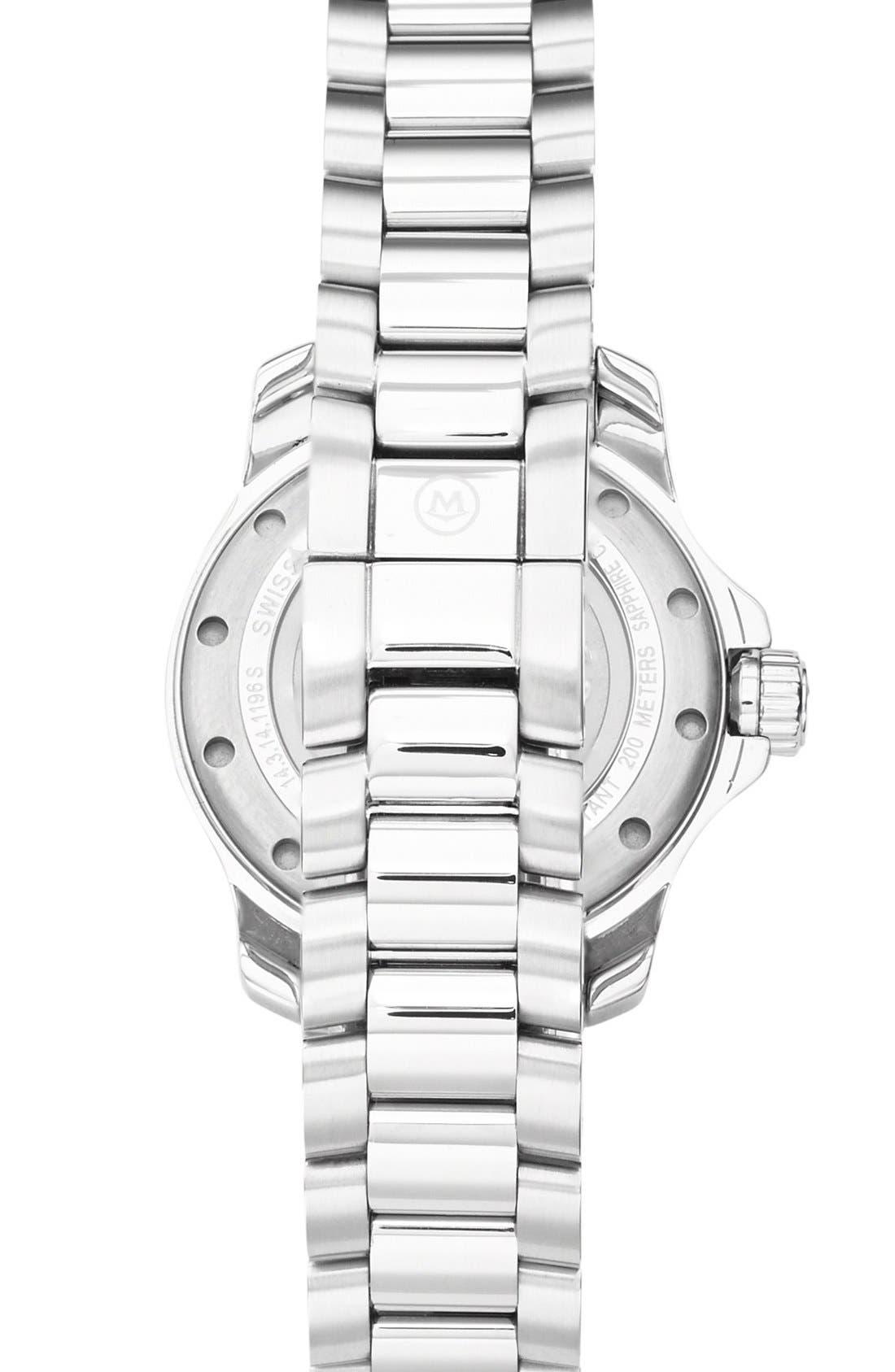 'Series 800' Diamond Bracelet Watch, 29mm,                             Alternate thumbnail 2, color,                             Silver