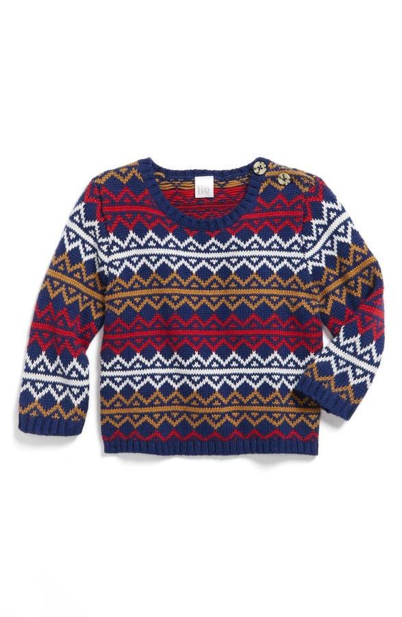 Nordstrom Baby Fair Isle Sweater (Baby Boys) | Nordstrom