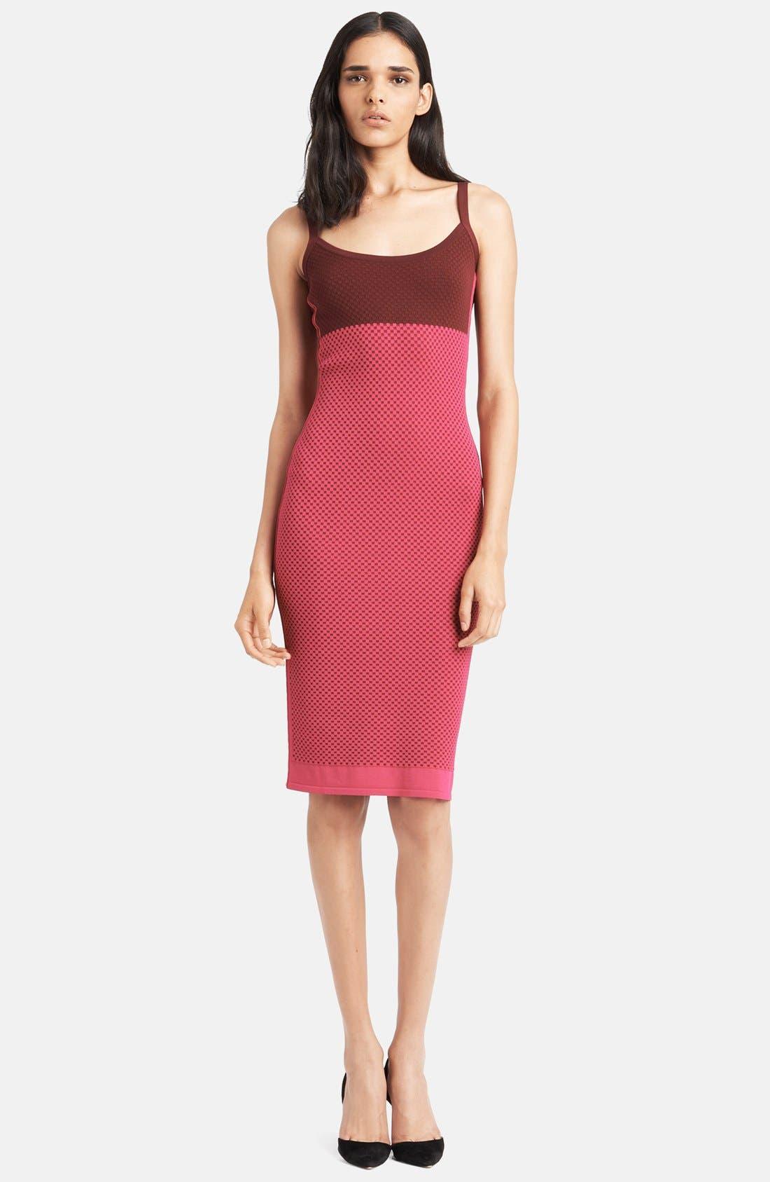 Main Image - Narciso Rodriguez Colorblock Knit Tank Dress