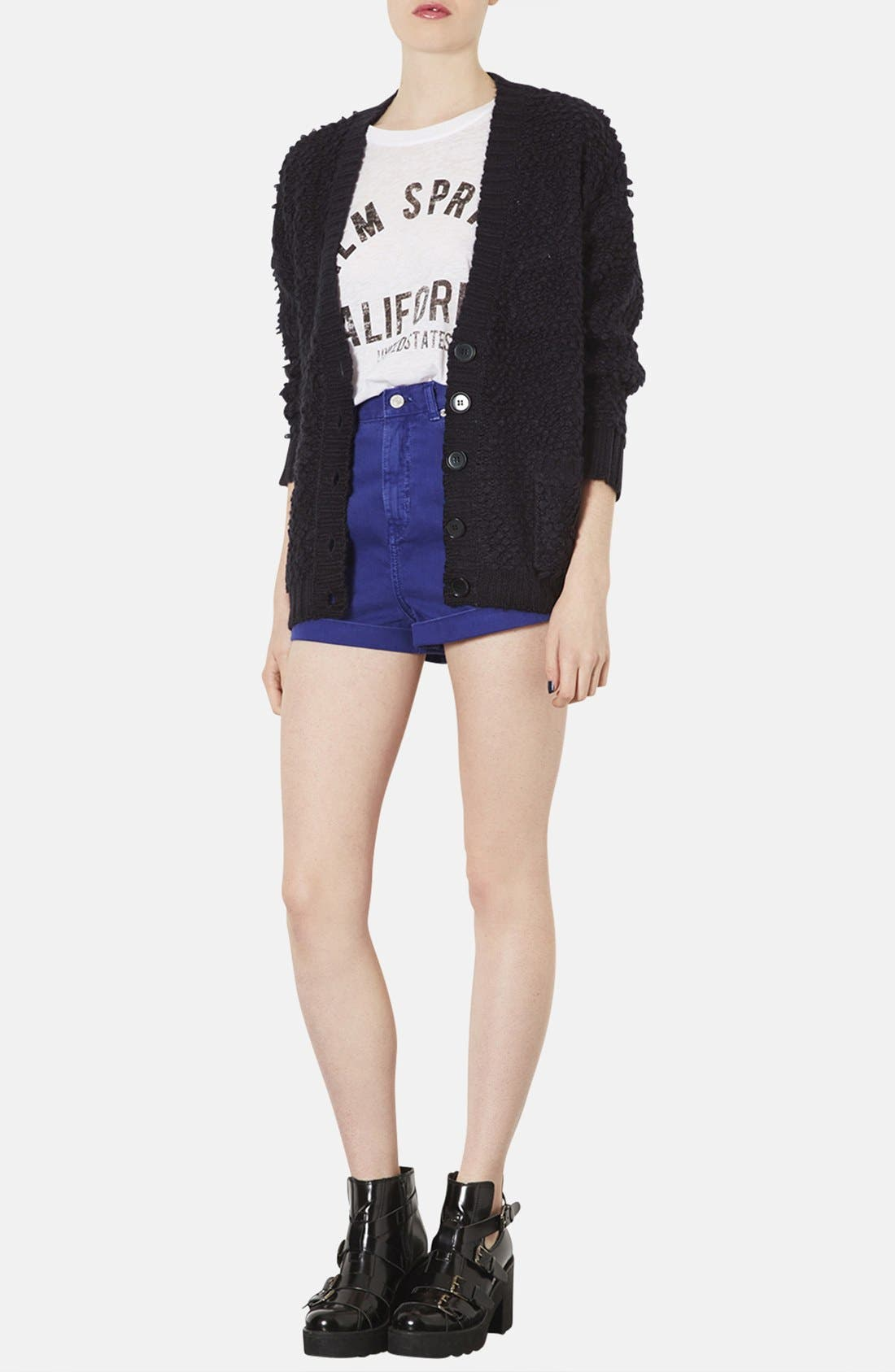 Alternate Image 4  - Topshop 'Hold Loopy' Textured Knit Cardigan