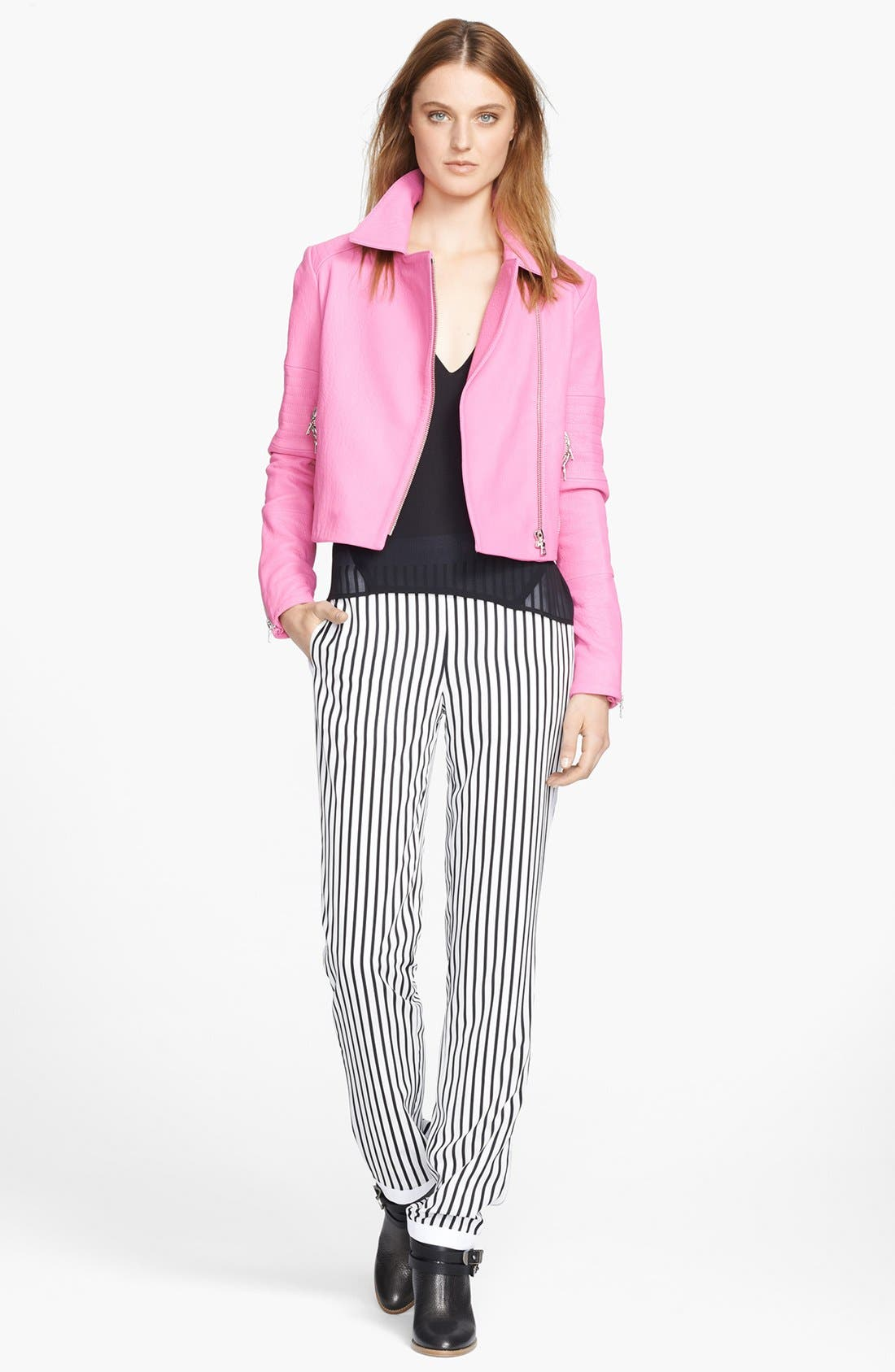 Alternate Image 3  - J Brand Ready-To-Wear 'Delia' Stripe Trousers