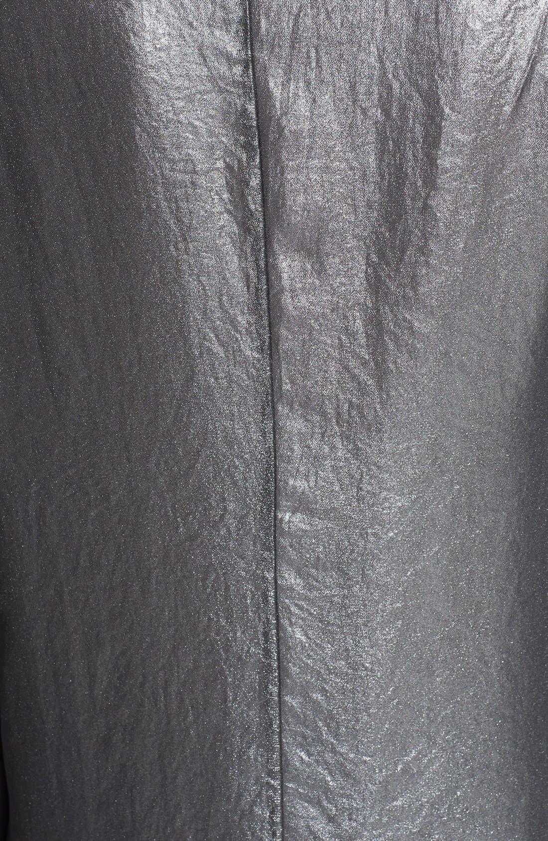 Alternate Image 3  - ASTR Open Front Metallic Jacket