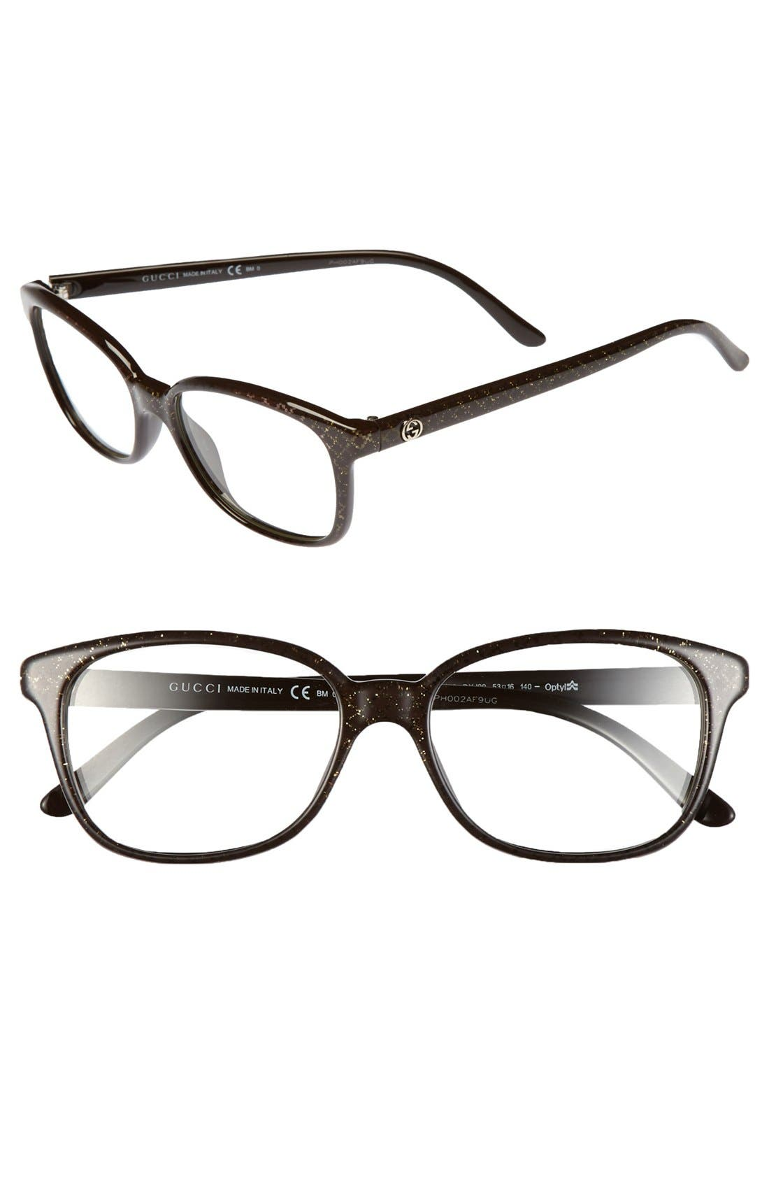 Gucci 53mm Optical Glasses (Online Only)
