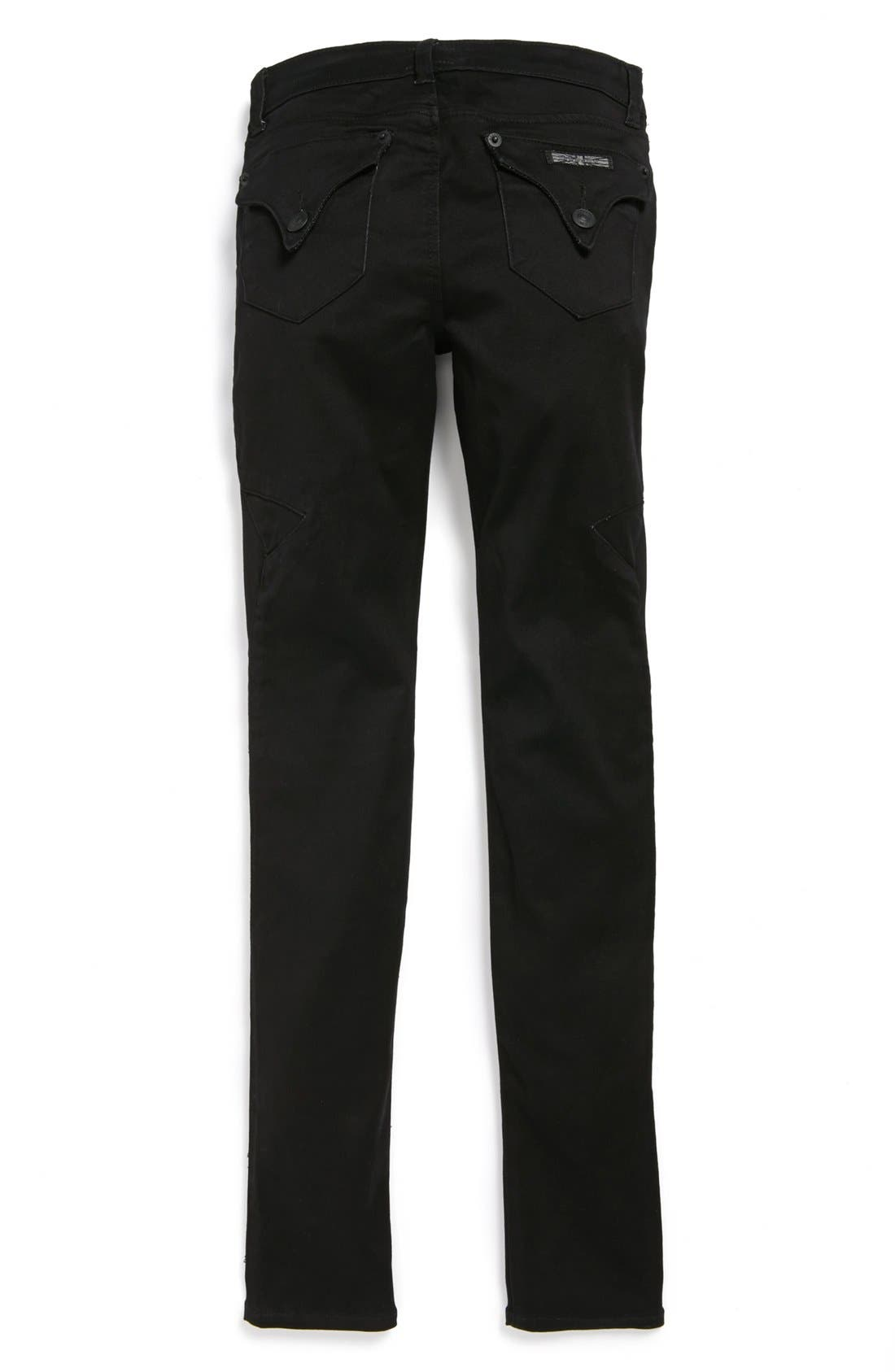 Alternate Image 1 Selected - Hudson Kids 'Moto' Skinny Jeans (Big Girls)