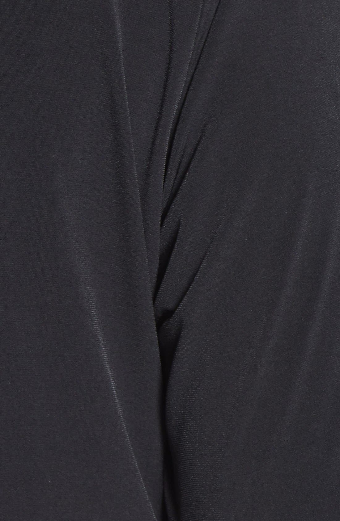 Alternate Image 3  - Tahari by ASL Chain Necklace Detail Jersey Dress (Plus)