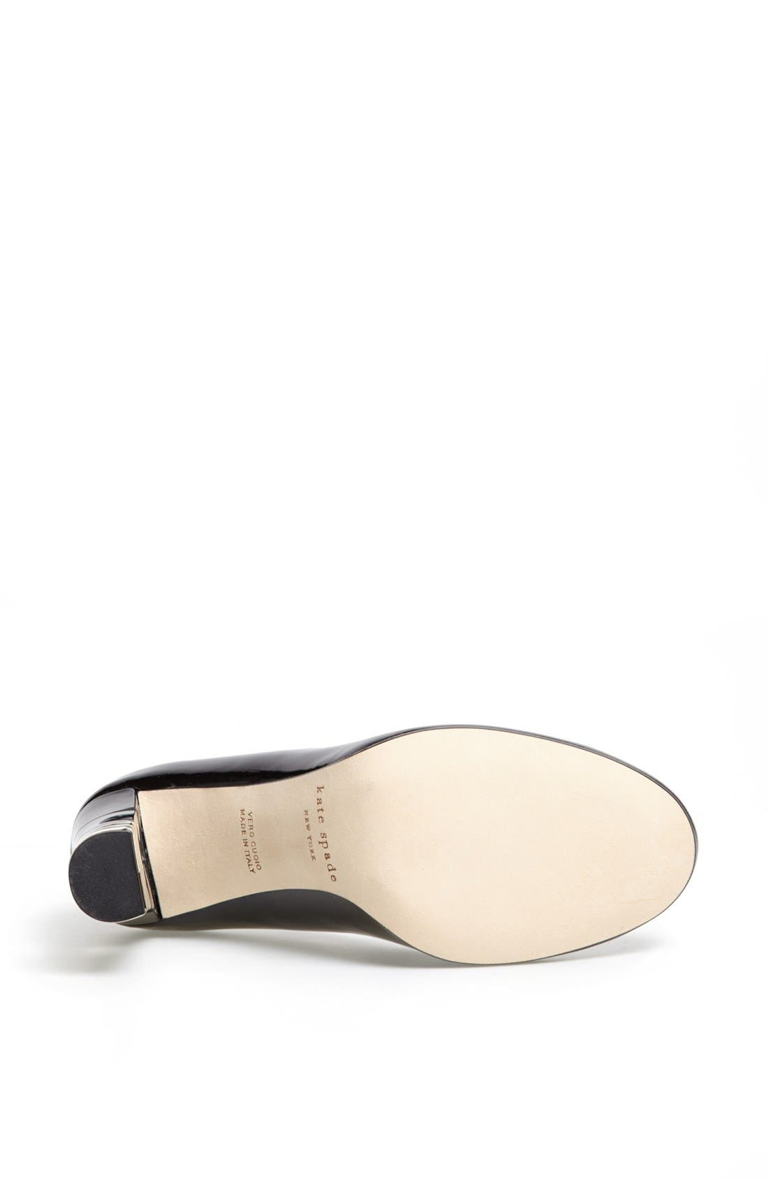 Alternate Image 4  - kate spade new york 'leslie' leather pump