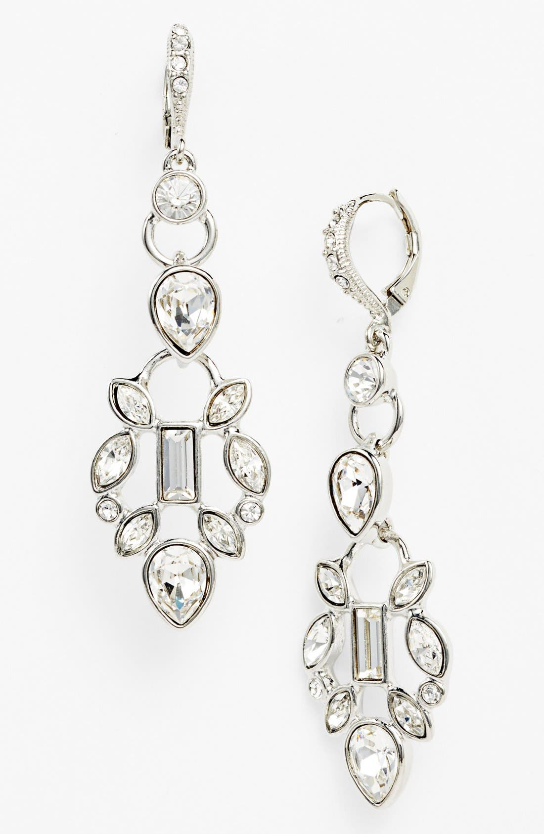 Main Image - Givenchy Crystal Cluster Drop Earrings (Nordstrom Exclusive)