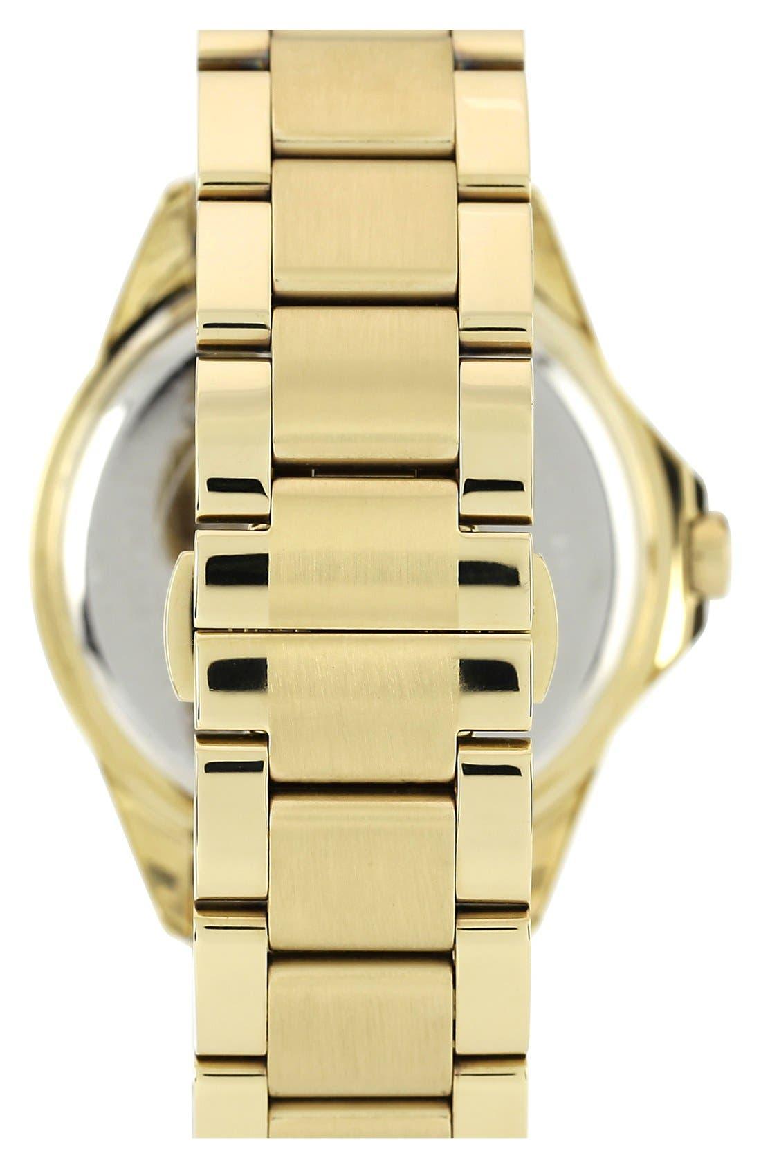 Alternate Image 2  - Vince Camuto Round Crystal Bezel Bracelet Watch, 42mm