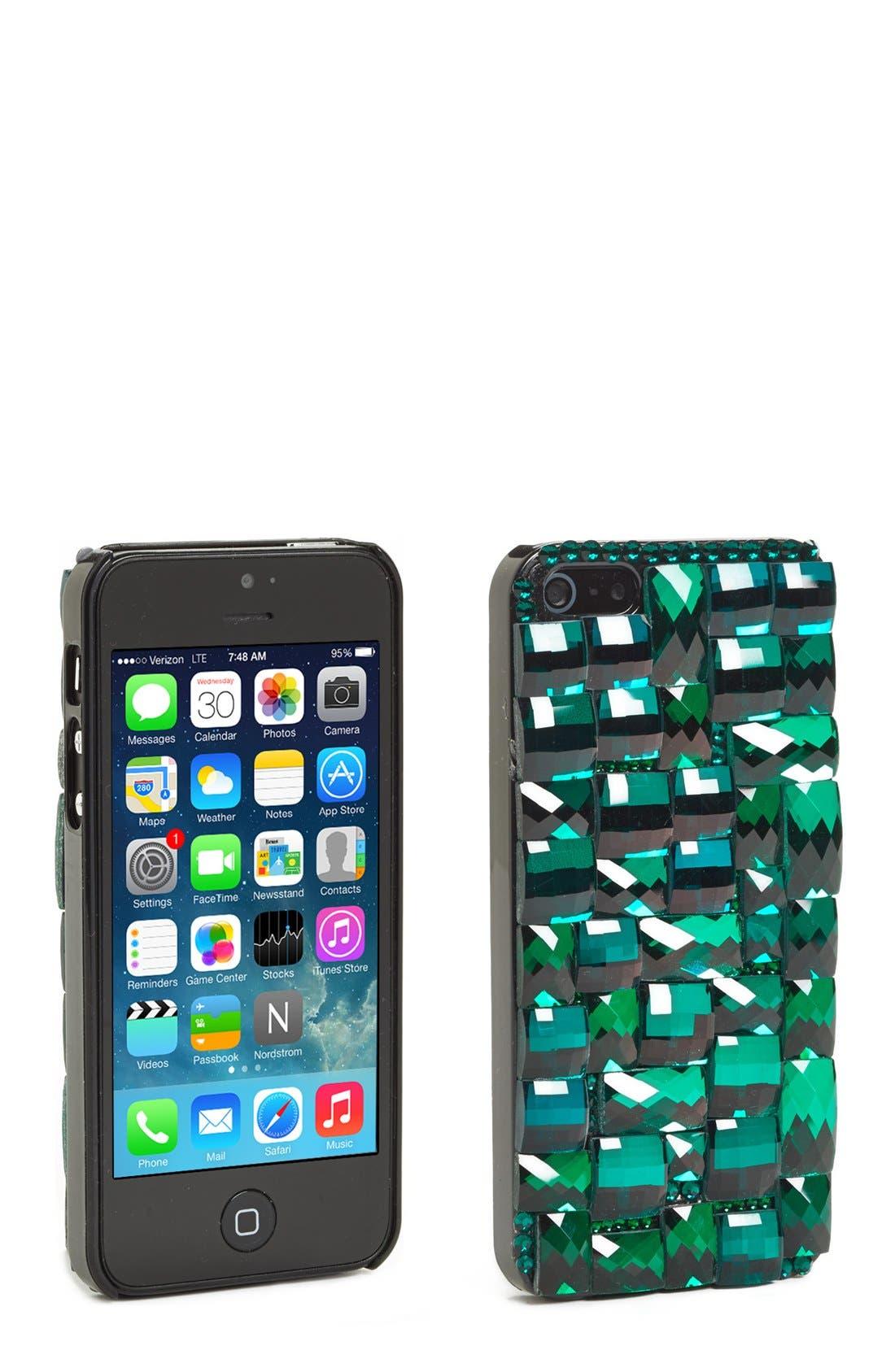 Main Image - Natasha Couture 'Be Glitzy' iPhone 5 Case