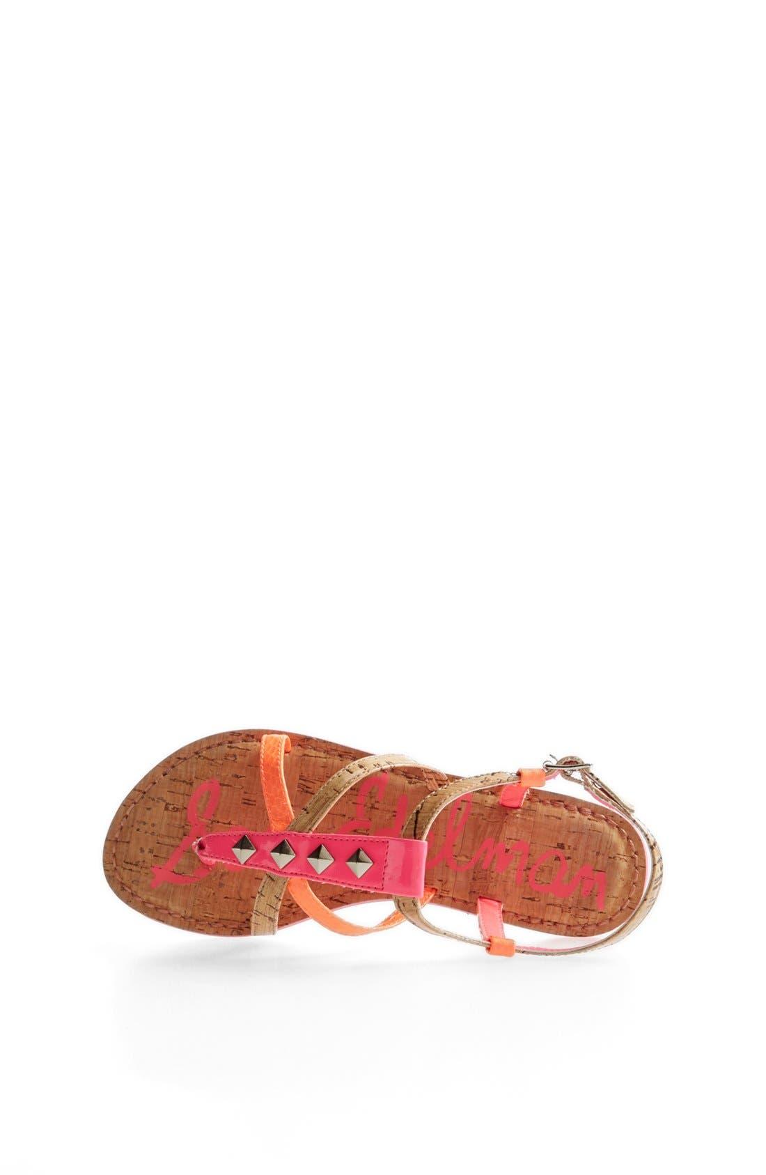 Alternate Image 3  - Sam Edelman 'Gemma' Sandal (Toddler, Little Kid & Big Kid)