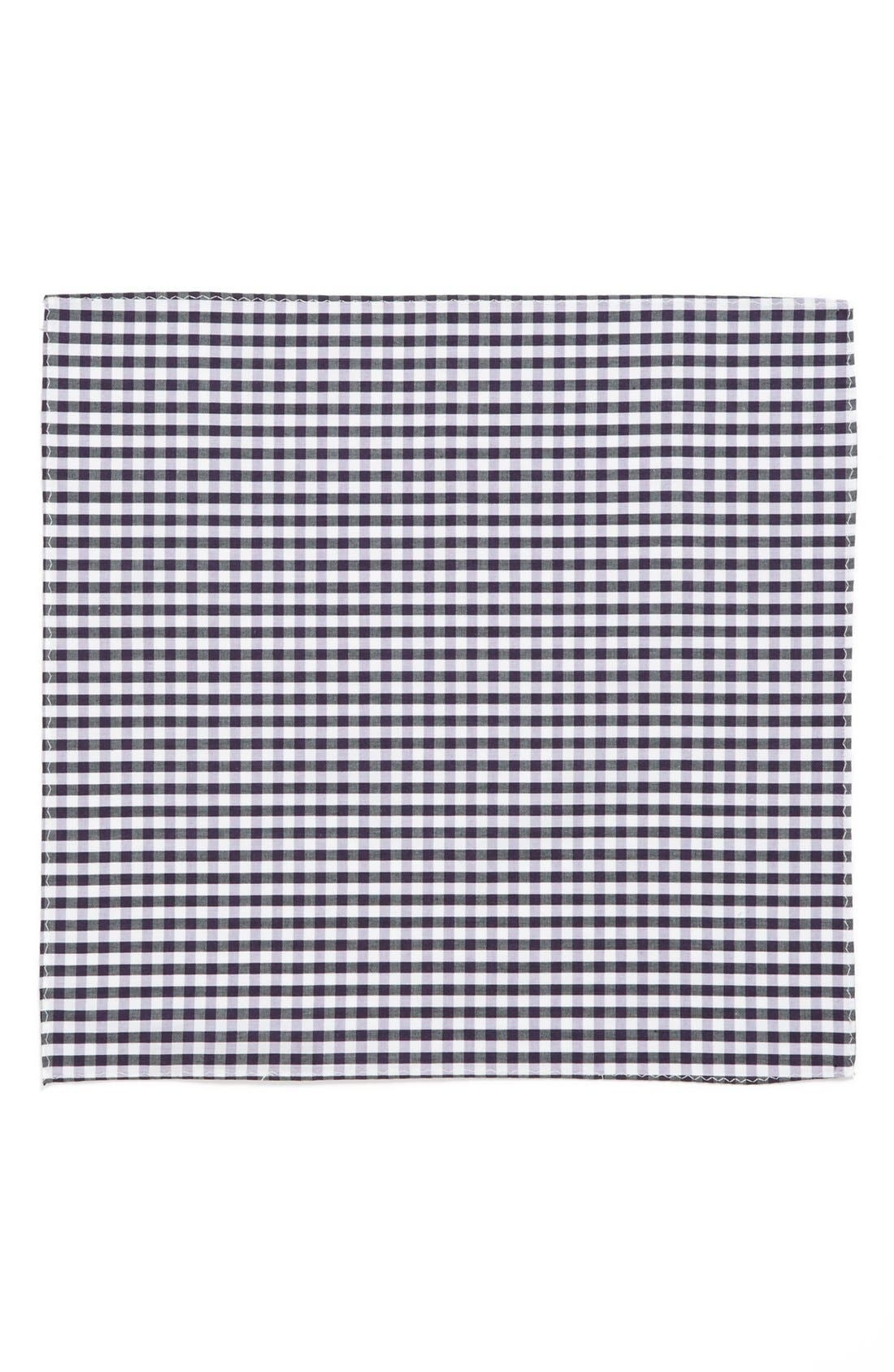Alternate Image 2  - Original Penguin 'Cohen Gingham' Cotton Pocket Square