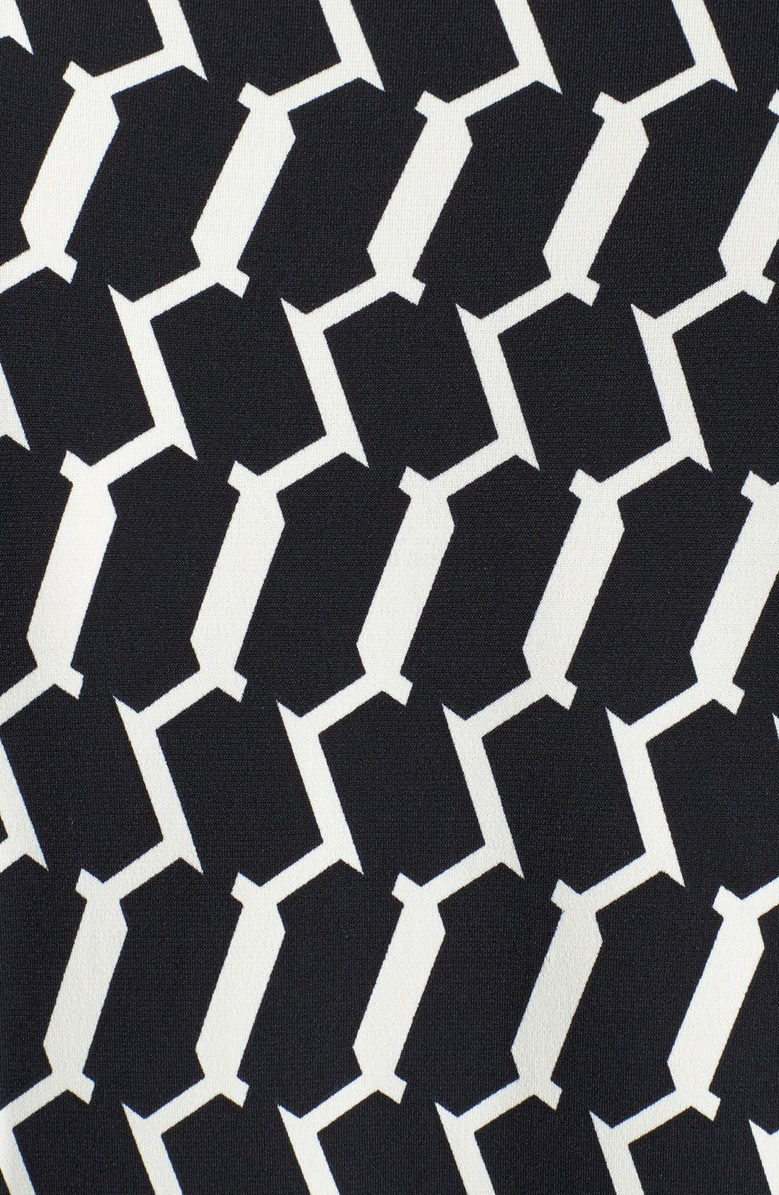 Alternate Image 4  - Maggy London Print Matte Jersey Wrap Dress