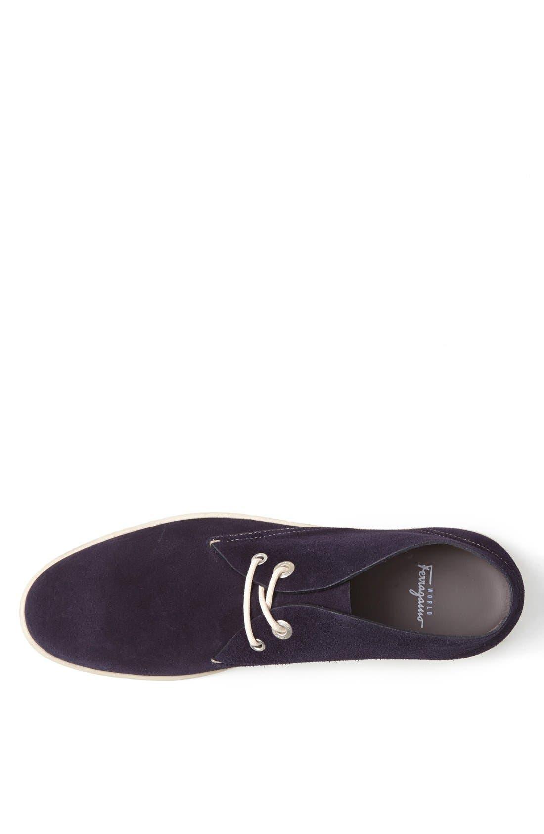 Alternate Image 3  - Salvatore Ferragamo 'Rico' Chukka Sneaker