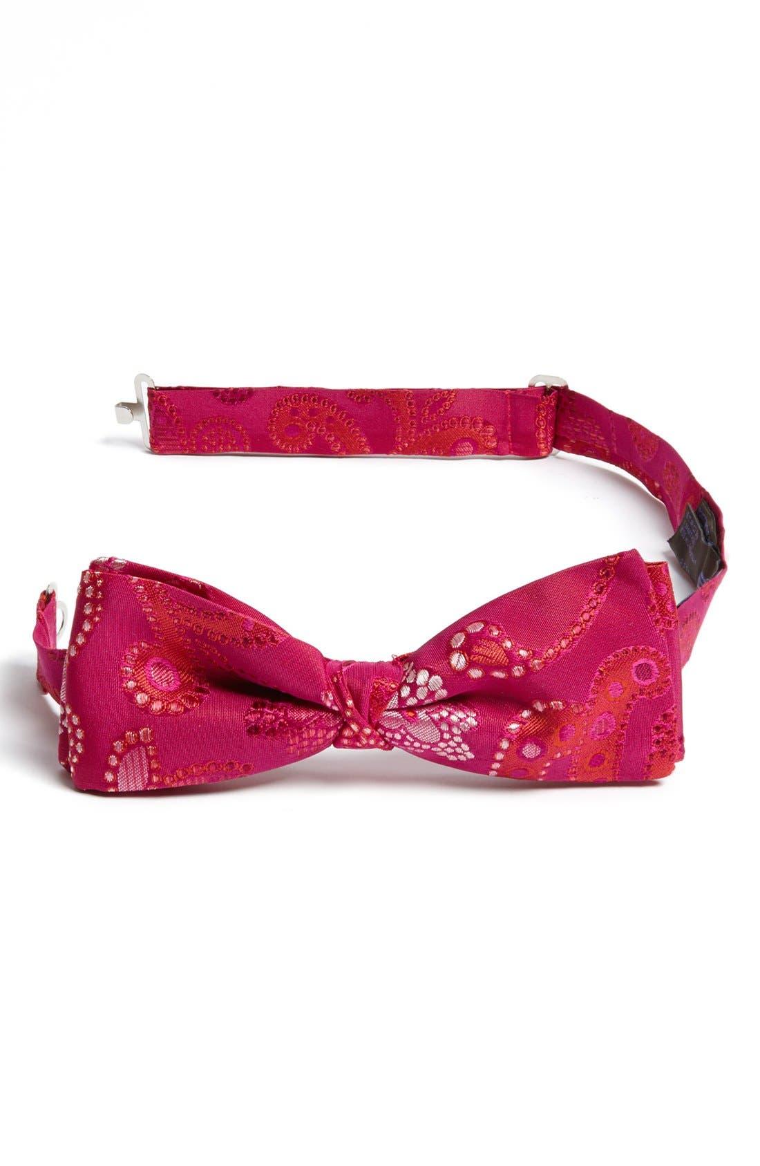Main Image - Etro Paisley Silk Bow Tie