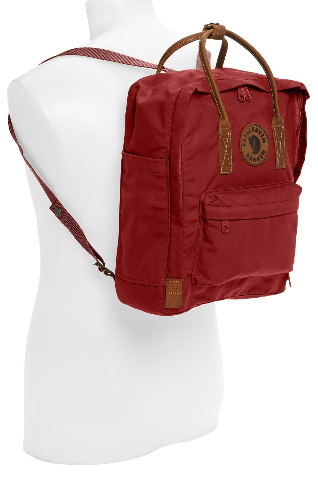 'Kånken No. 2' Backpack,                             Alternate thumbnail 2, color,                             Deep Red