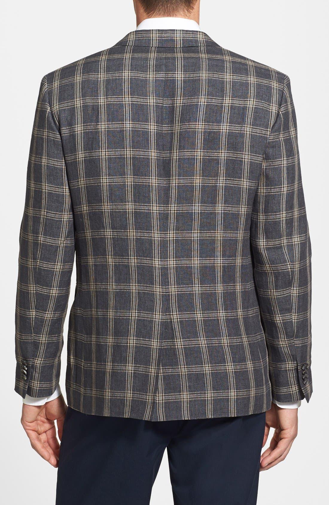 Alternate Image 2  - Nordstrom Classic Fit Linen Sportcoat