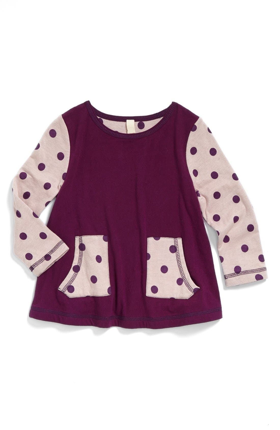 Main Image - Tucker + Tate 'Steph' Organic Cotton Tunic (Baby Girls)