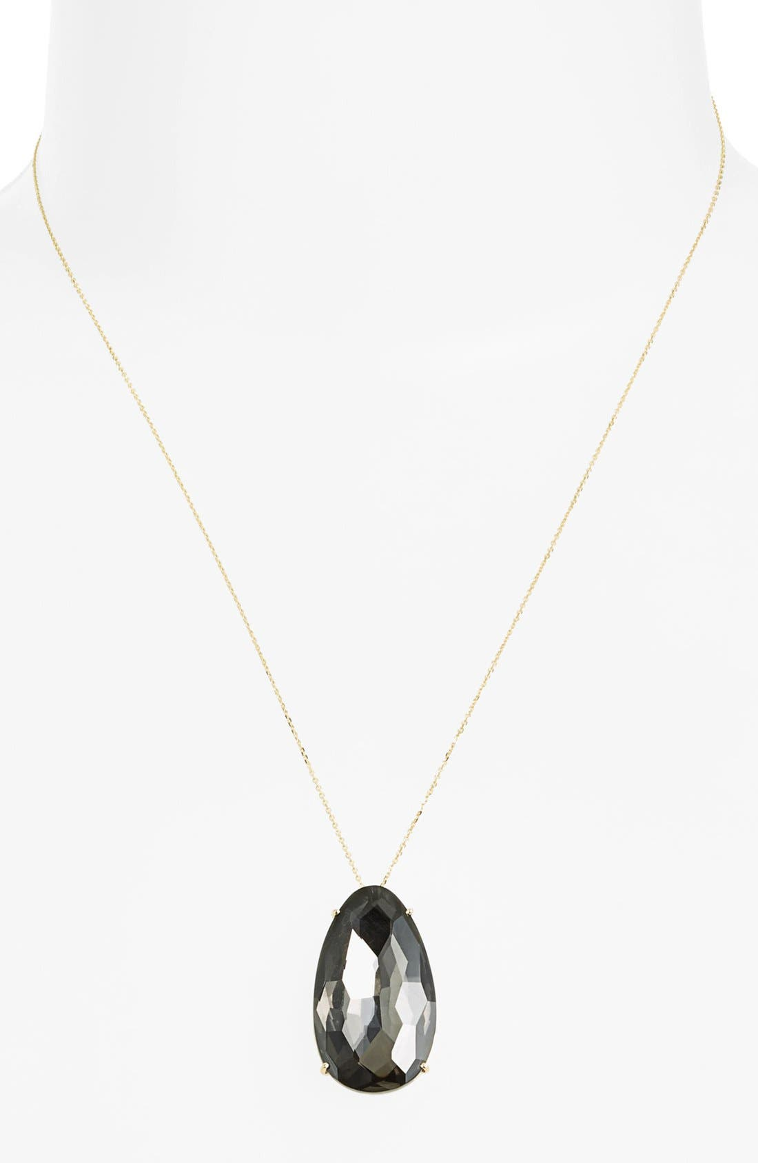 Alternate Image 1 Selected - KALAN by Suzanne Kalan Stone Pendant Necklace