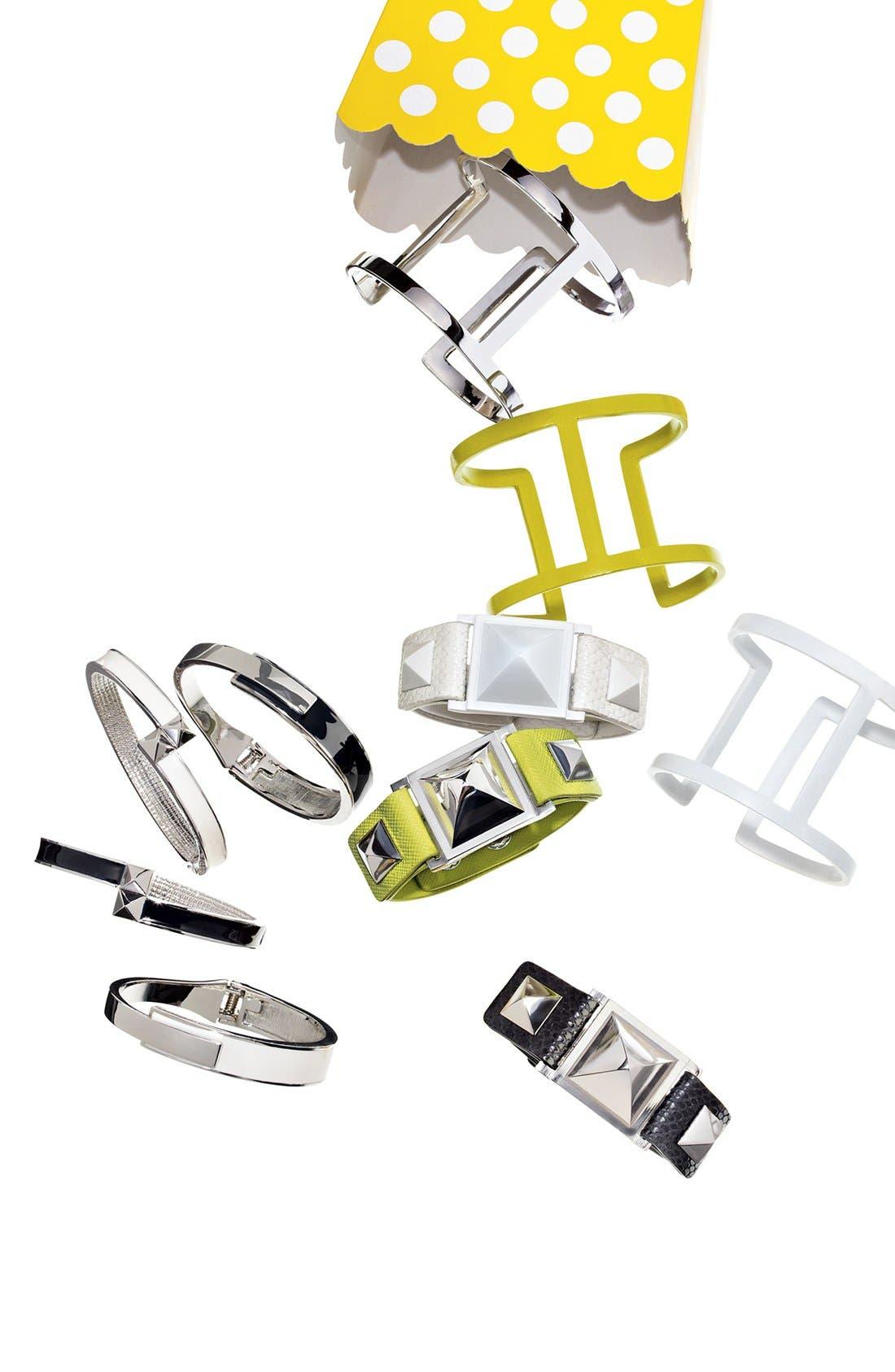 Alternate Image 2  - Vince Camuto Enamel Hinged Bracelet (Nordstrom Exclusive)