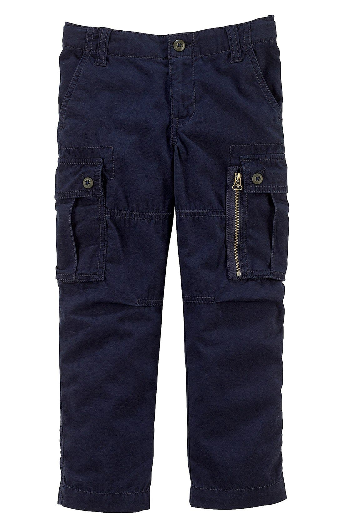 Alternate Image 1 Selected - Ralph Lauren Cargo Pants (Toddler Boys)