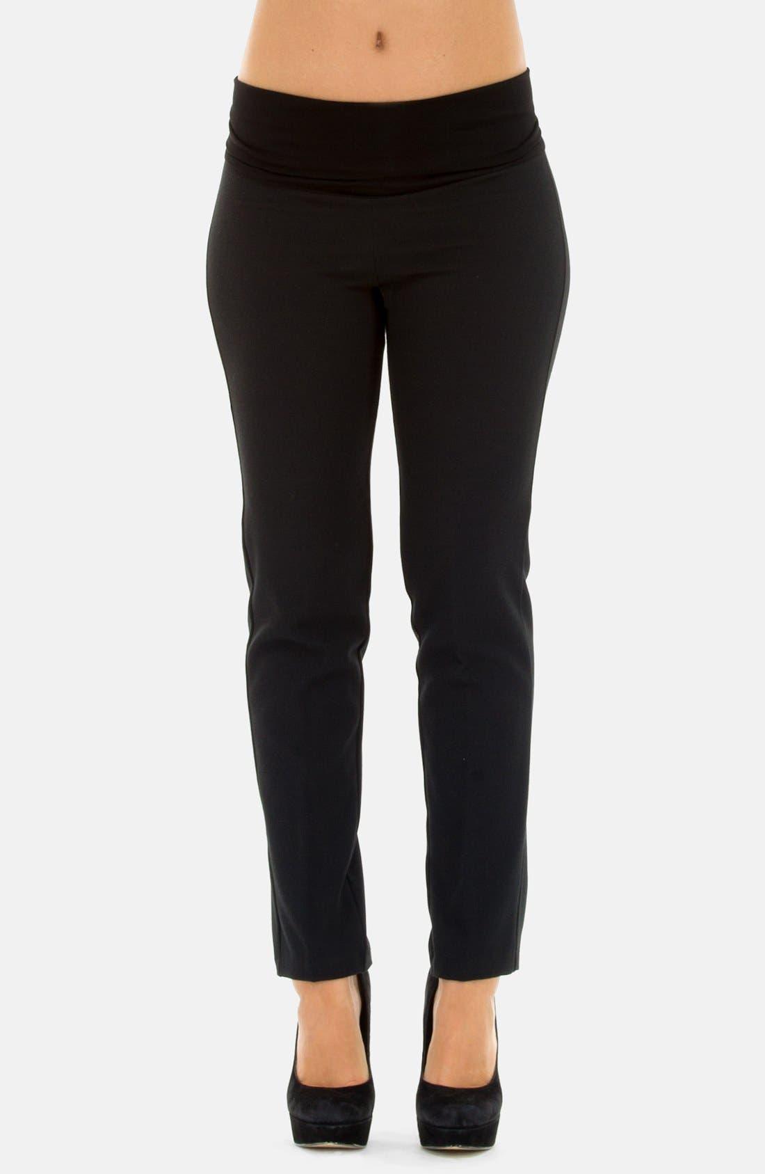 Alternate Image 1 Selected - Olian Skinny Leg Maternity Pants