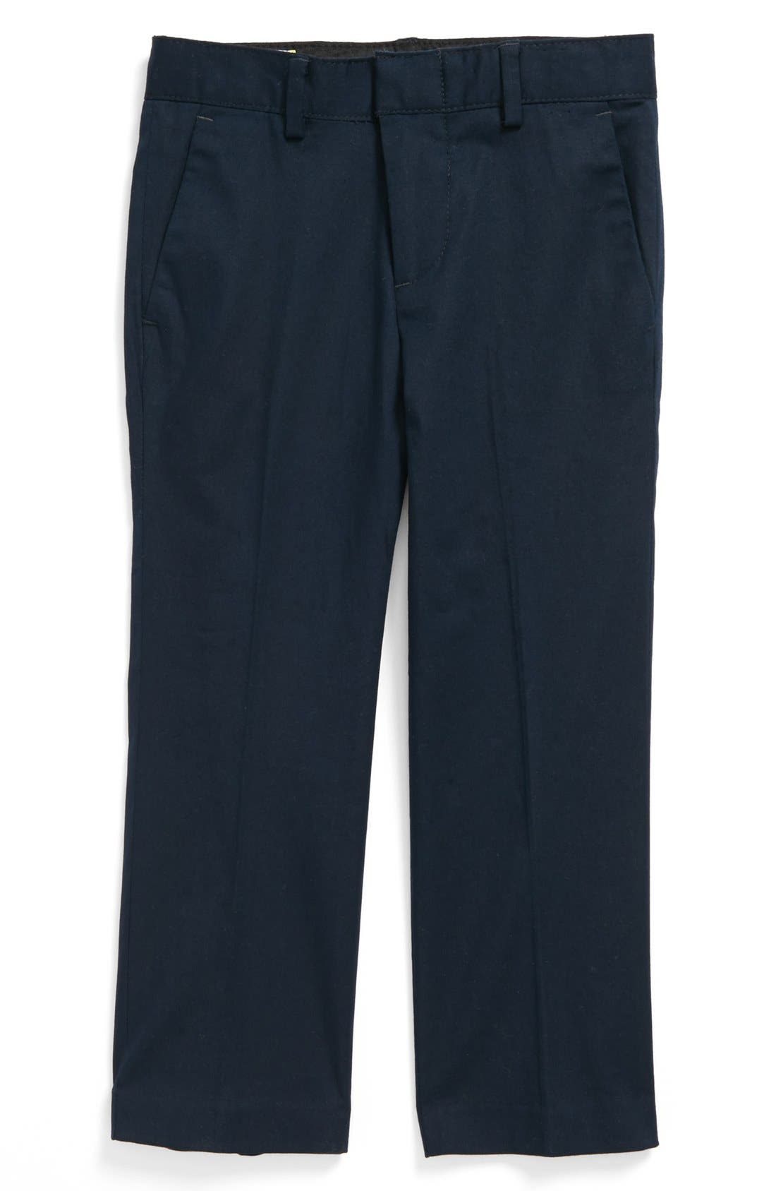 Alternate Image 1 Selected - C2 by Calibrate 'Sterling' Stretch Cotton Dress Pants (Toddler Boys)