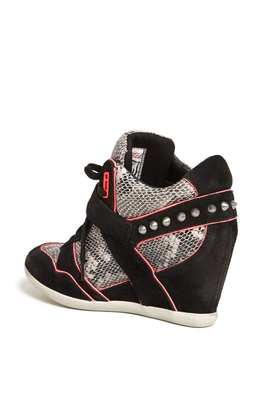 Alternate Image 2  - Ash 'Bisou' Spike Studded Hidden Wedge Sneaker
