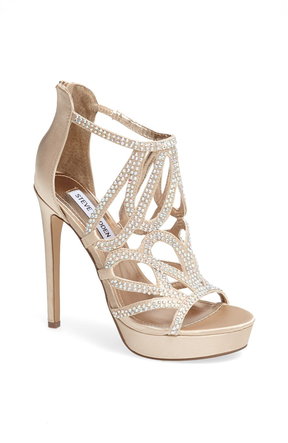 Alternate Image 1 Selected - Steve Madden 'Singer' Platform Sandal