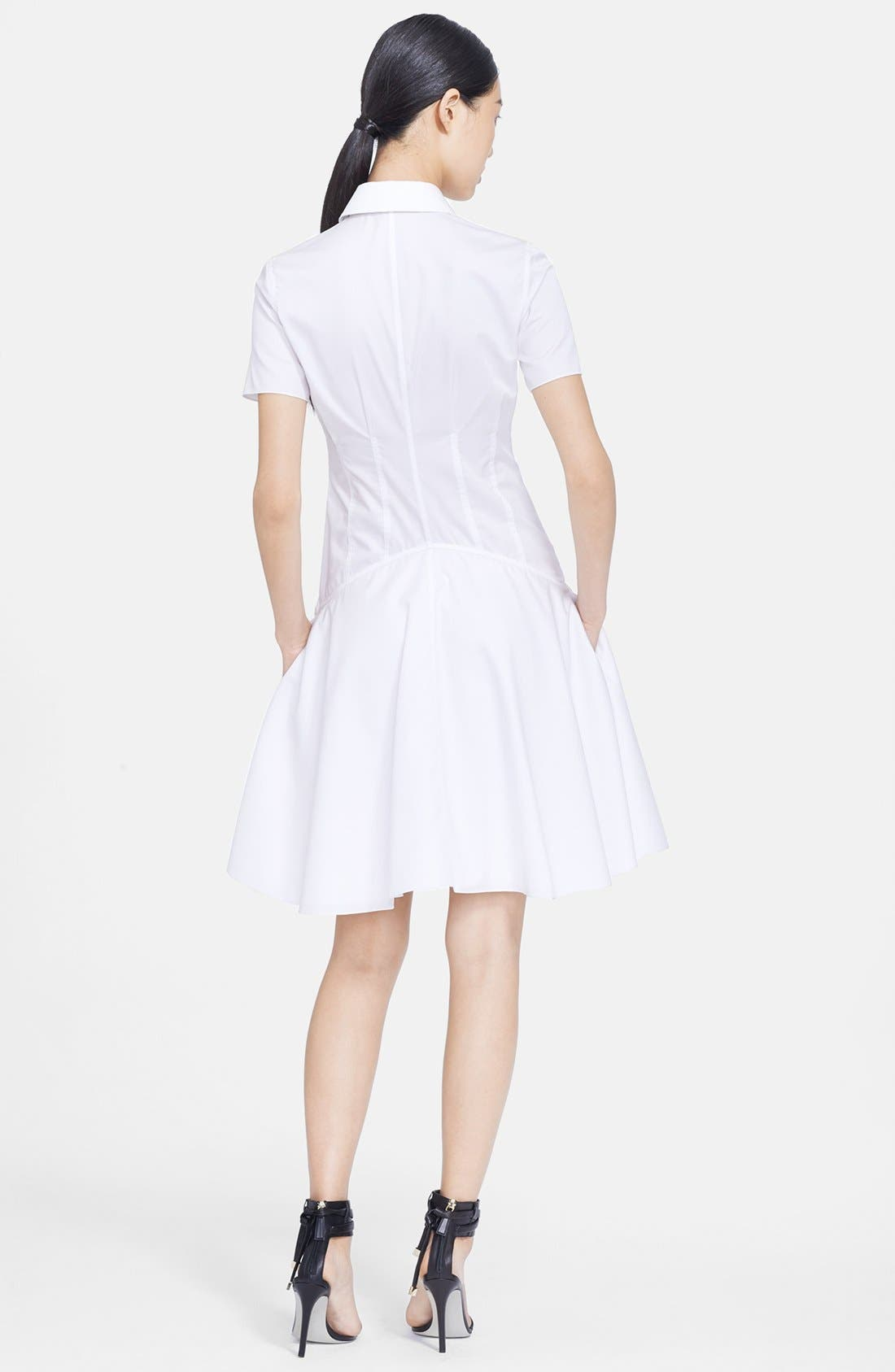 Alternate Image 2  - Jason Wu Poplin Fit & Flare Shirtdress