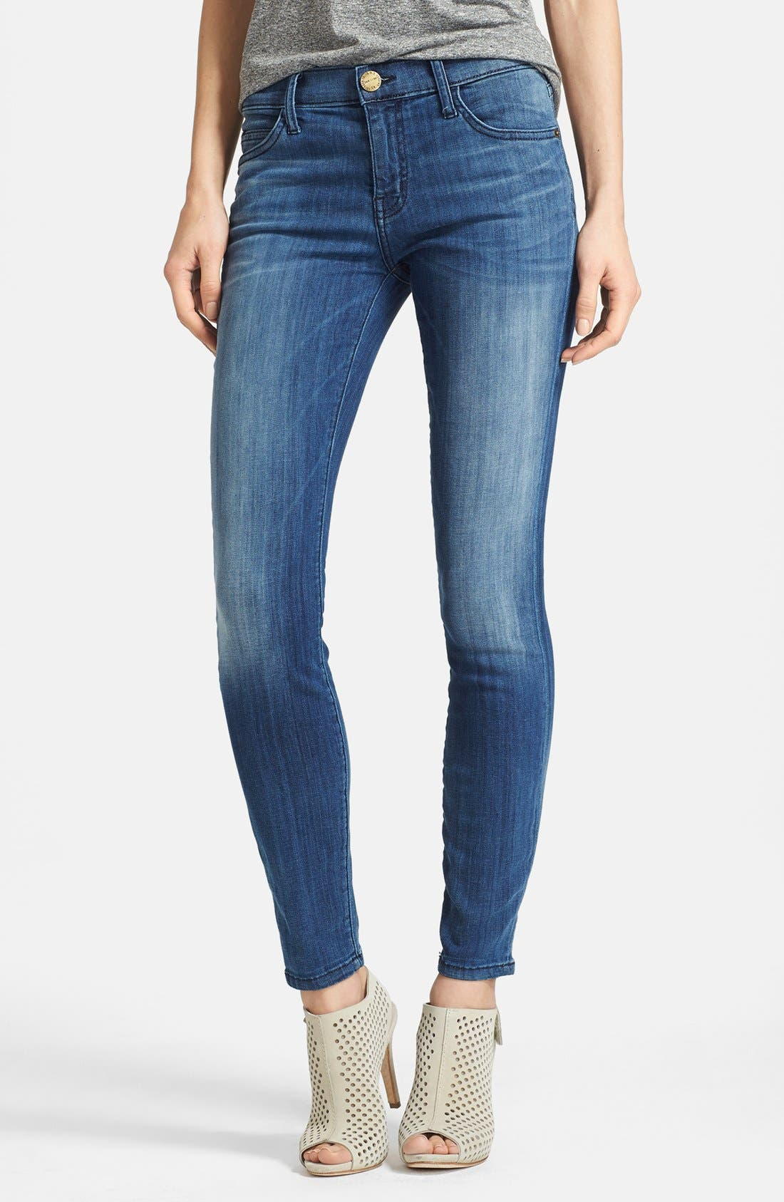 Main Image - Current/Elliott 'The Stiletto' Skinny Jeans (Sunfade)