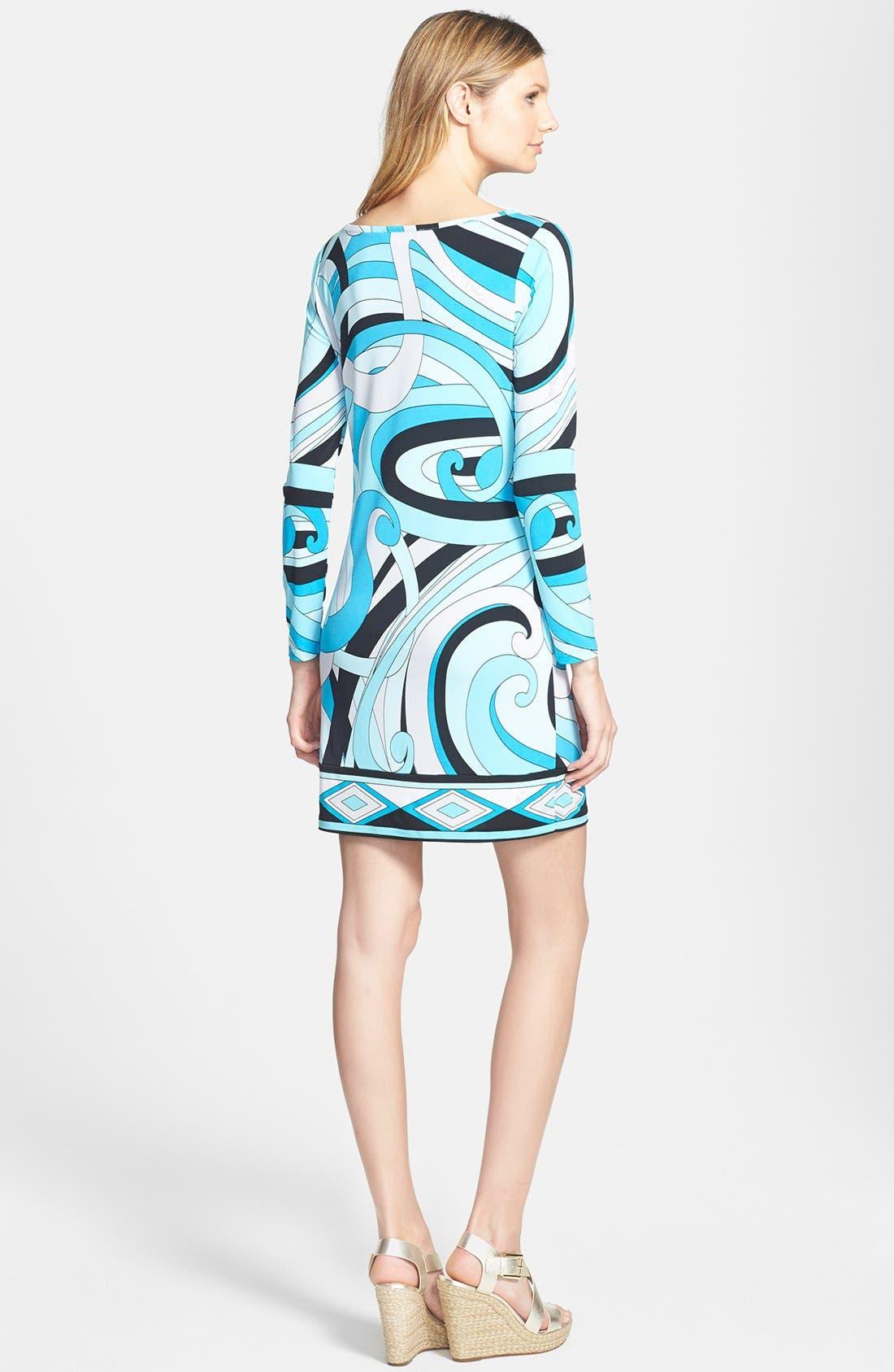 Alternate Image 2  - MICHAEL Michael Kors 'Marquee' Boatneck Dress (Regular & Petite)