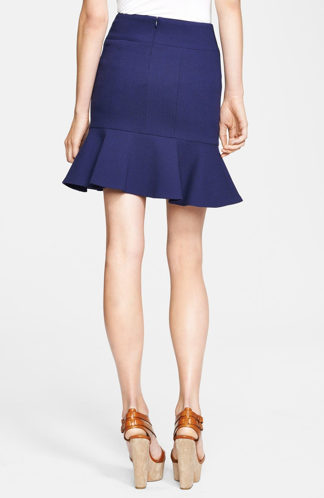 Alternate Image 2  - Michael Kors Bouclé Stretch Wool Skirt
