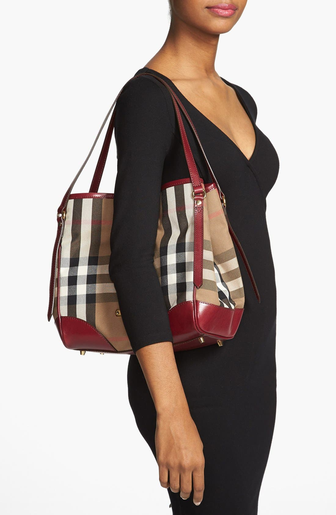 Alternate Image 2  - Burberry 'Small Canterbury' House Check Tote