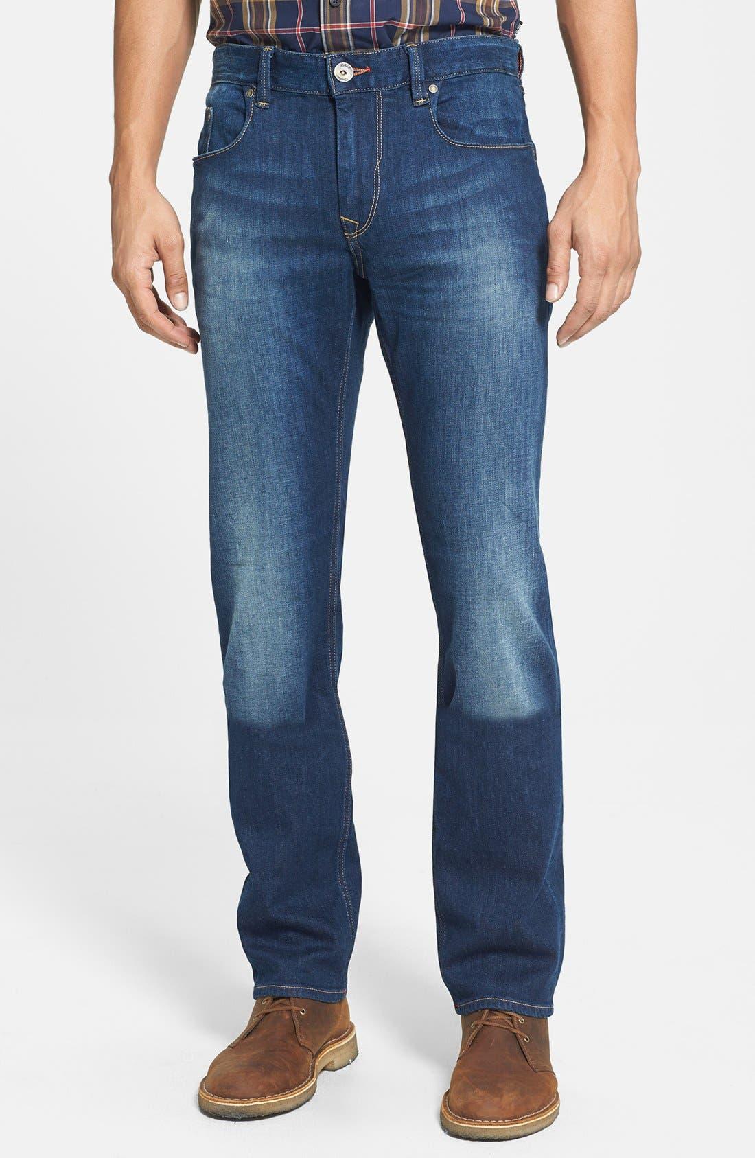 Alternate Image 1 Selected - Robert Graham 'Upside Down' Slim Fit Straight Leg Jeans