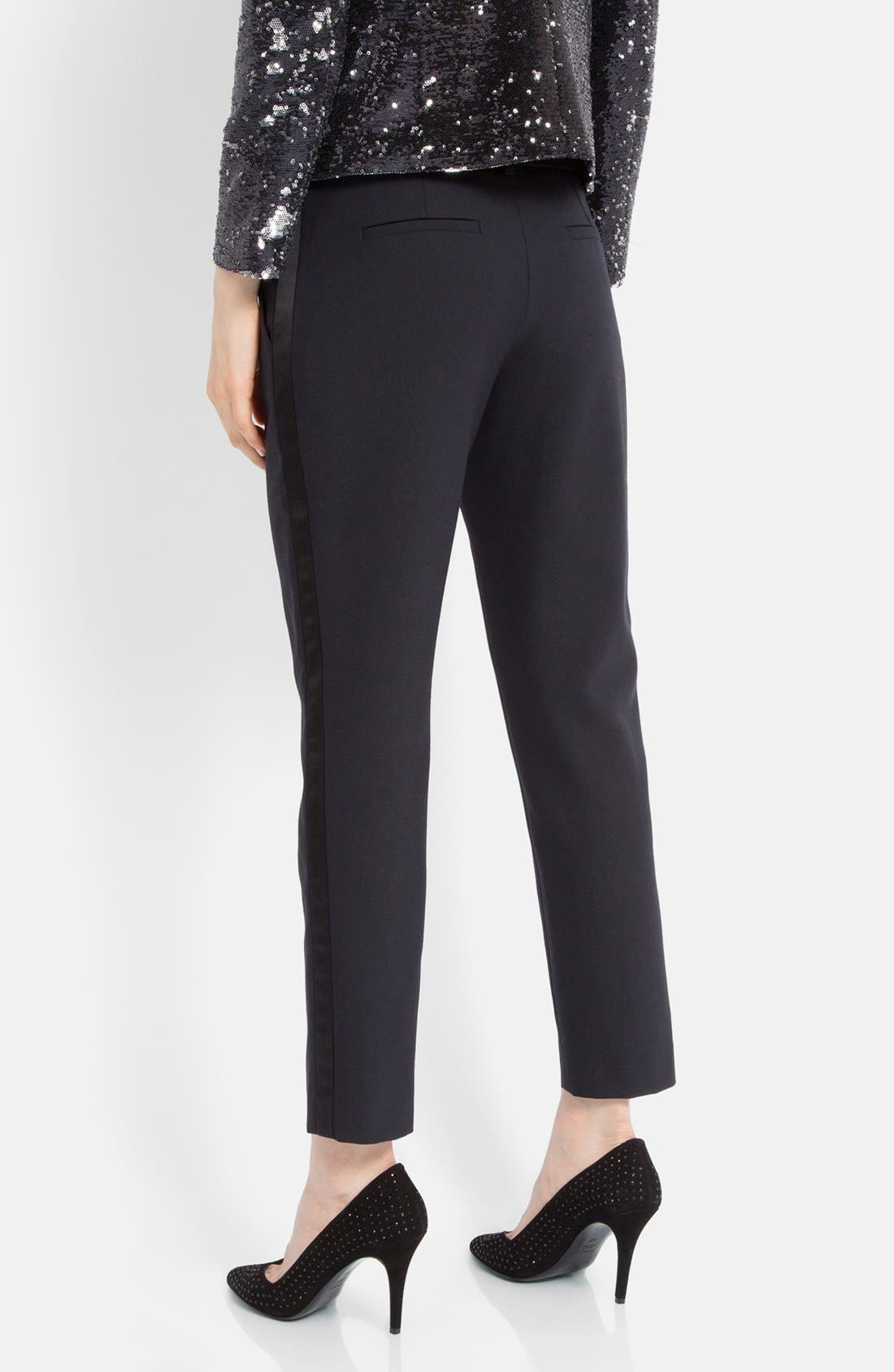 Alternate Image 2  - maje 'Erika' Tuxedo Stripe Pants