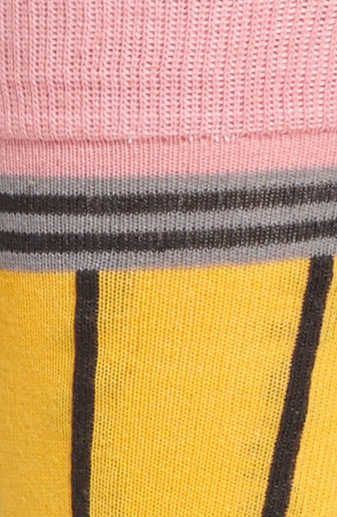 Alternate Image 2  - Topman Pencil Pattern Socks