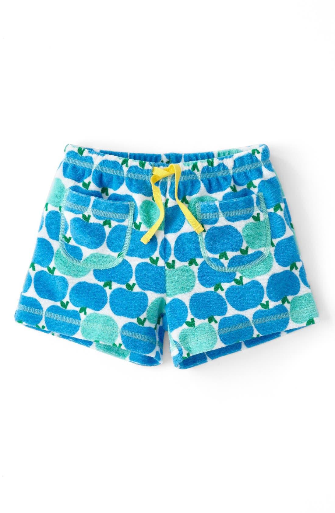 Alternate Image 1 Selected - Mini Boden 'Towelling' Shorts (Toddler Girls, Little Girls & Big Girls)(Online Only)