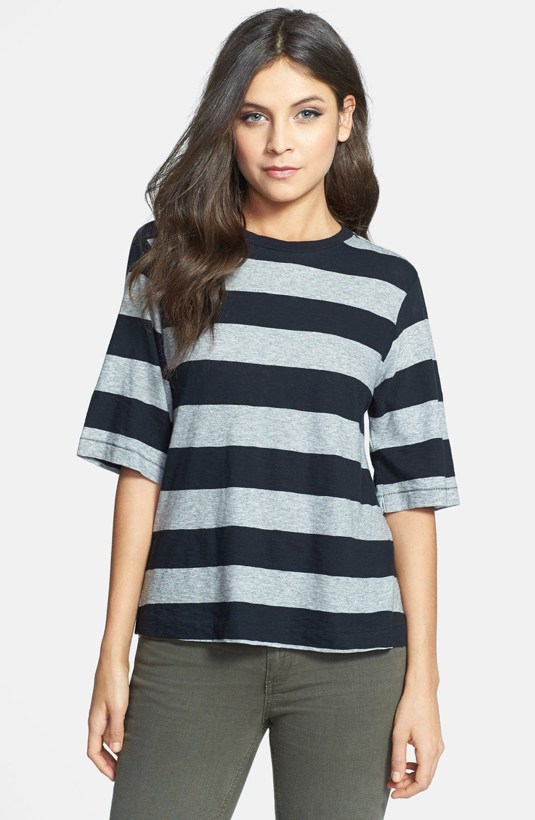 Main Image - rag & bone/JEAN 'The Carey' Stripe Tee