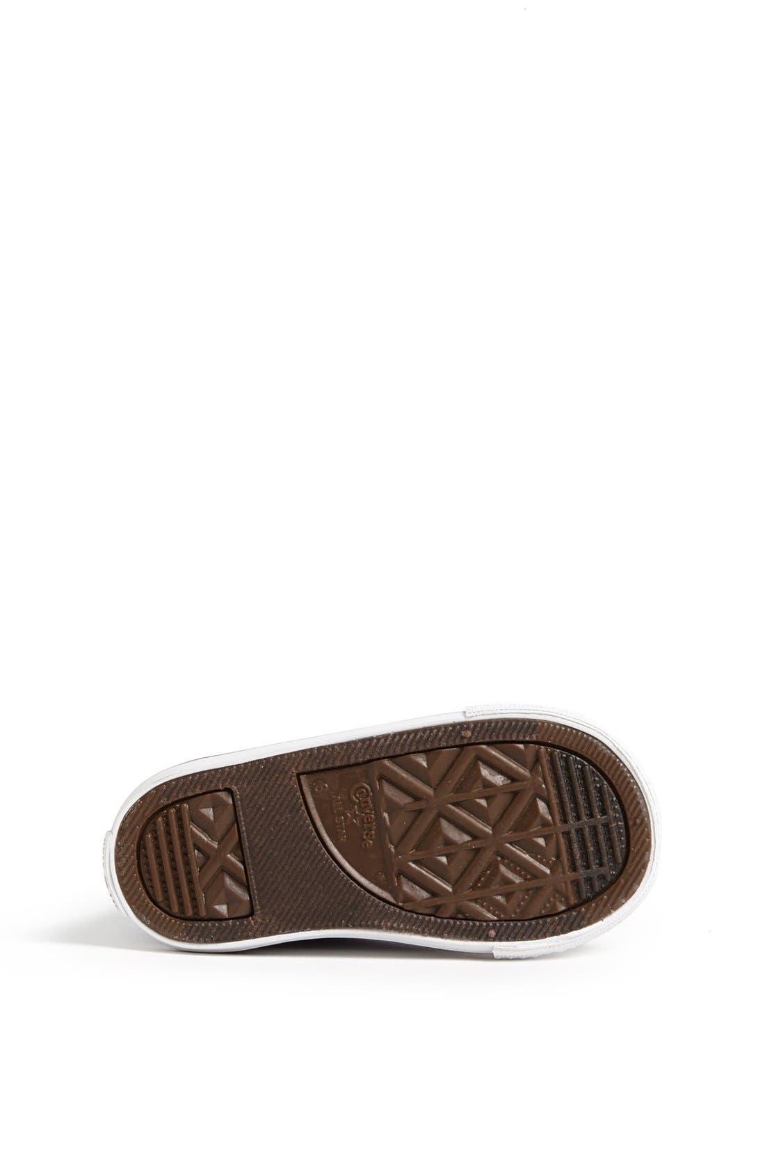Alternate Image 4  - Converse Chuck Taylor® All Star® High Top Sneaker (Baby, Walker, Toddler & Little Kid)
