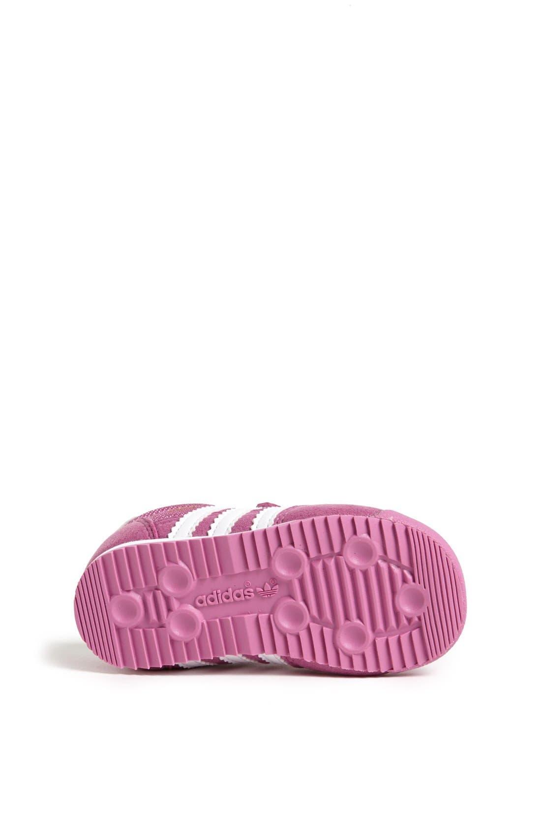 Alternate Image 4  - adidas 'Dragon' Sneaker (Baby, Walker & Toddler)