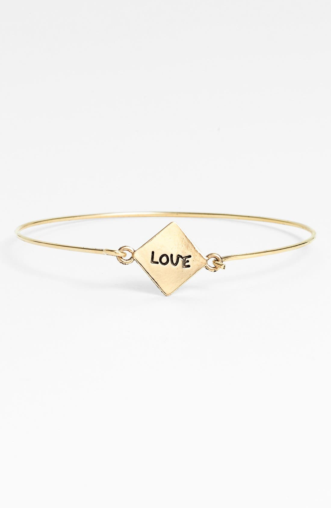 Alternate Image 1 Selected - BP. 'Love' Skinny Bangle (Juniors)