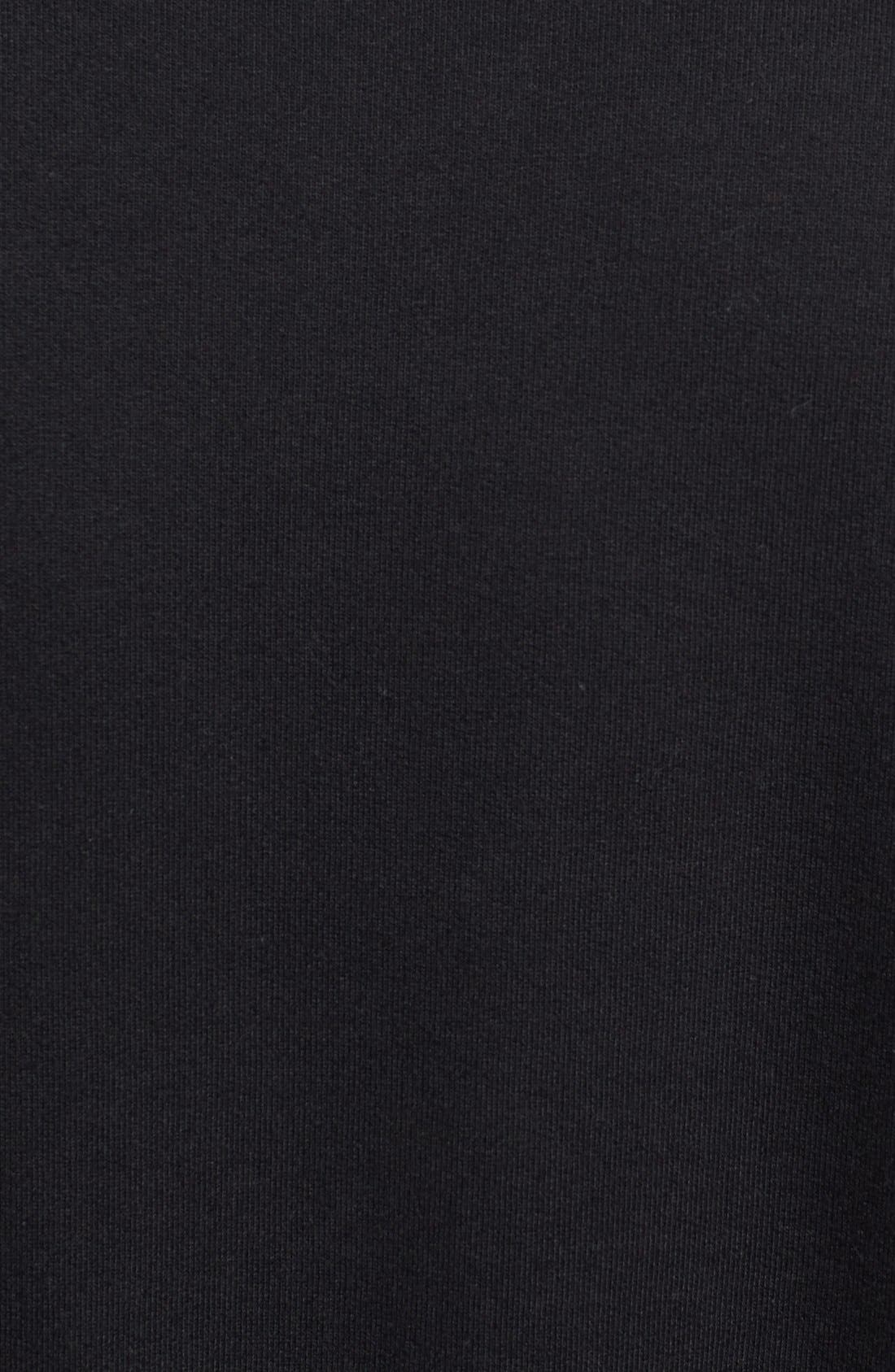 Alternate Image 3  - ZANEROBE 'Primal' Crewneck Sweatshirt with Suede Sleeves