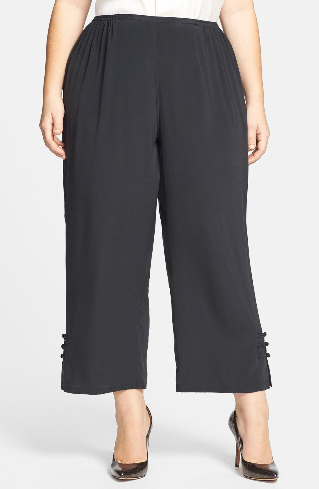 Alternate Image 1 Selected - Citron Ankle Pants (Plus Size)