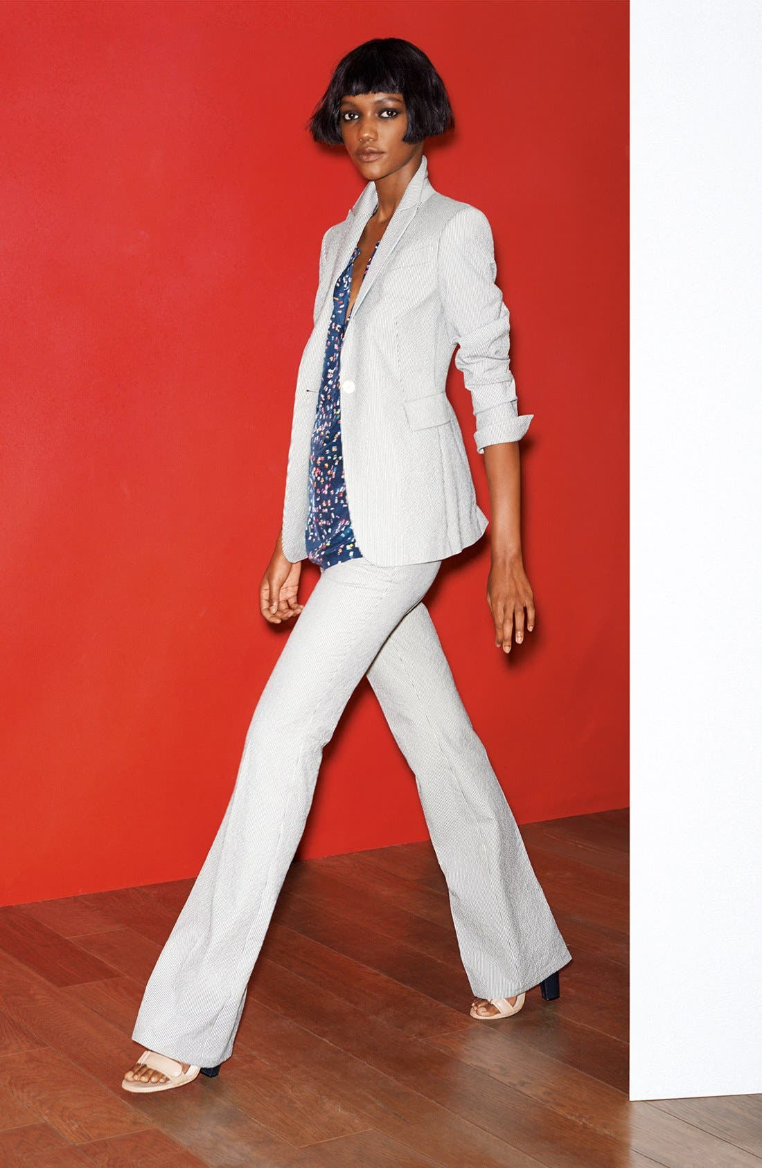 Main Image - Akris punto Jacket, Blouse & Pants