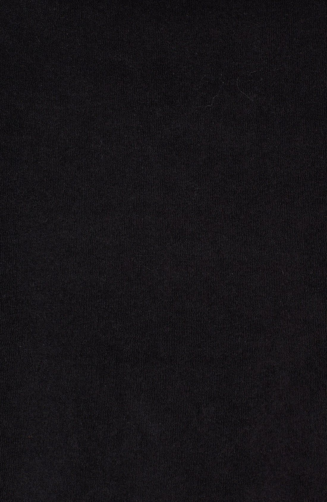 Alternate Image 3  - MICHAEL Michael Kors Zip Front French Terry Jacket (Regular & Petite)