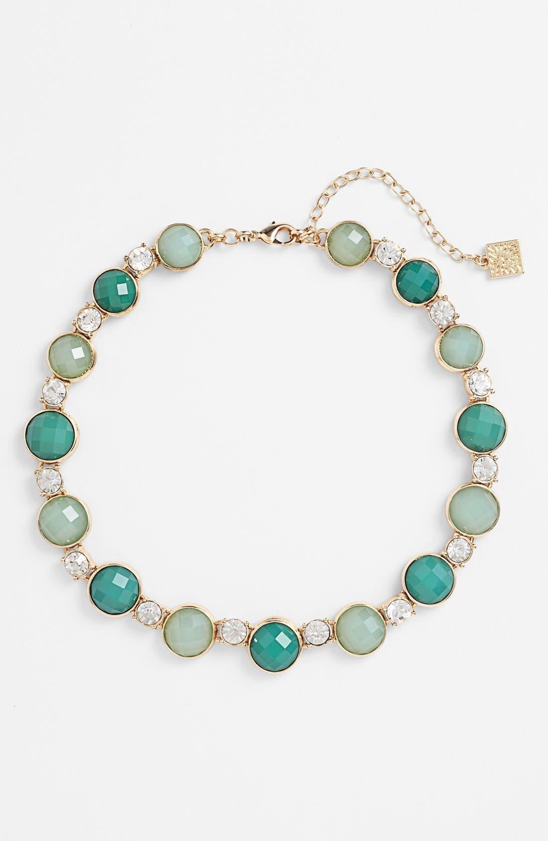 Alternate Image 2  - Anne Klein Stone Collar Necklace