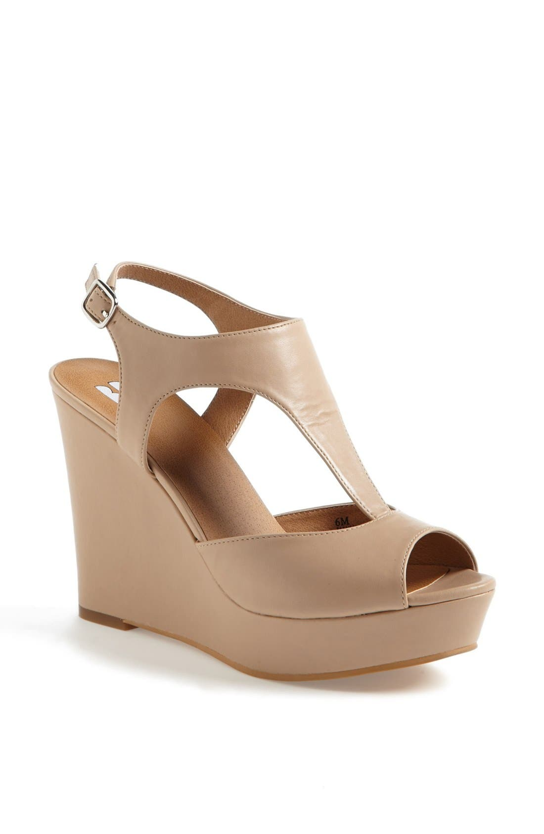 Alternate Image 1 Selected - BP. 'Springs' Wedge Sandal (Women)