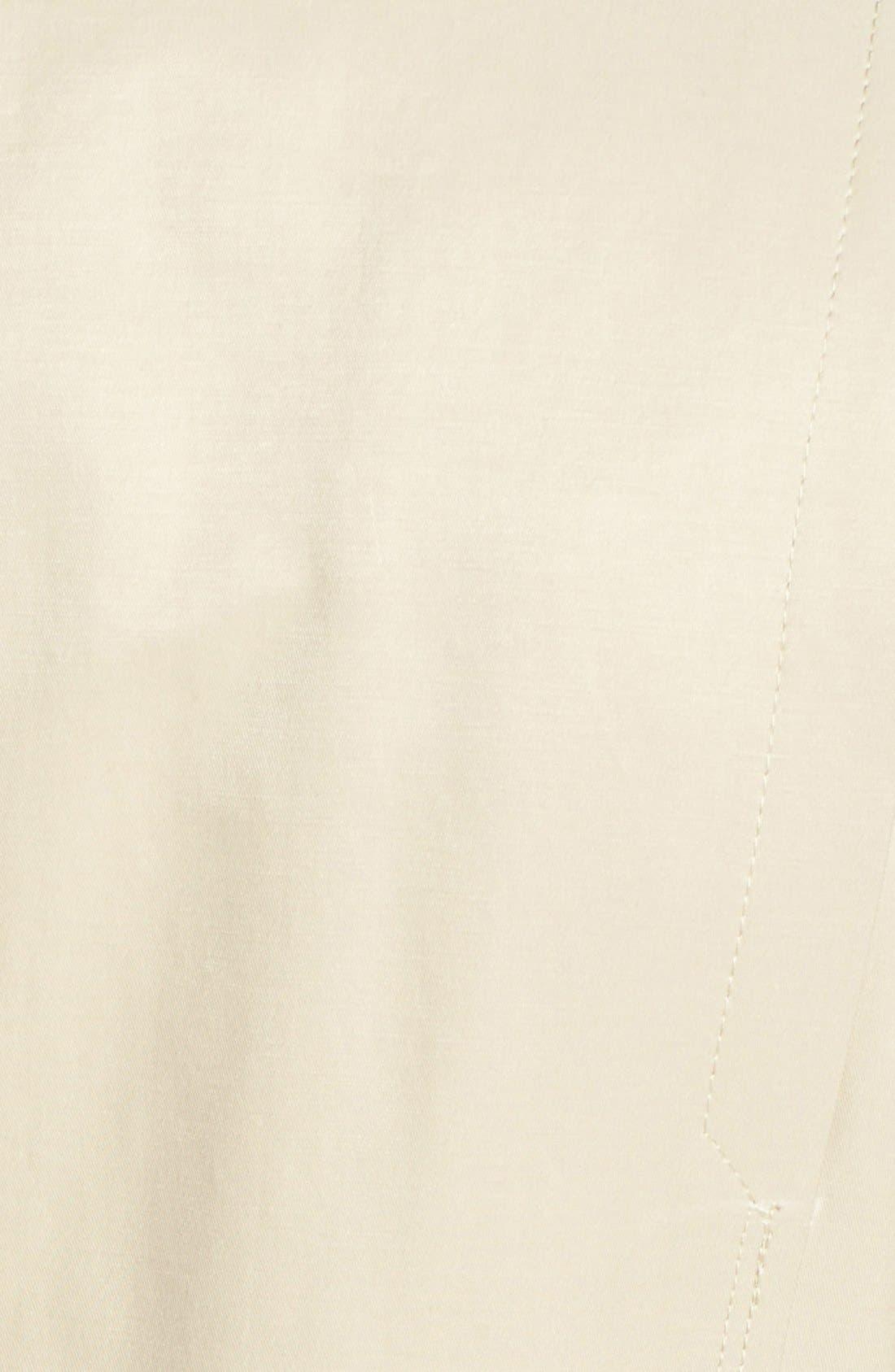 Alternate Image 3  - GUESS Tweed Detail Roll Sleeve Anorak